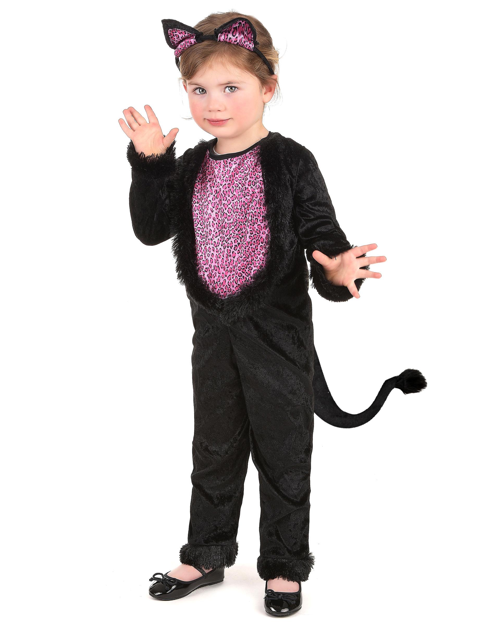 8c492aad0 Disfraz de gatita para niña