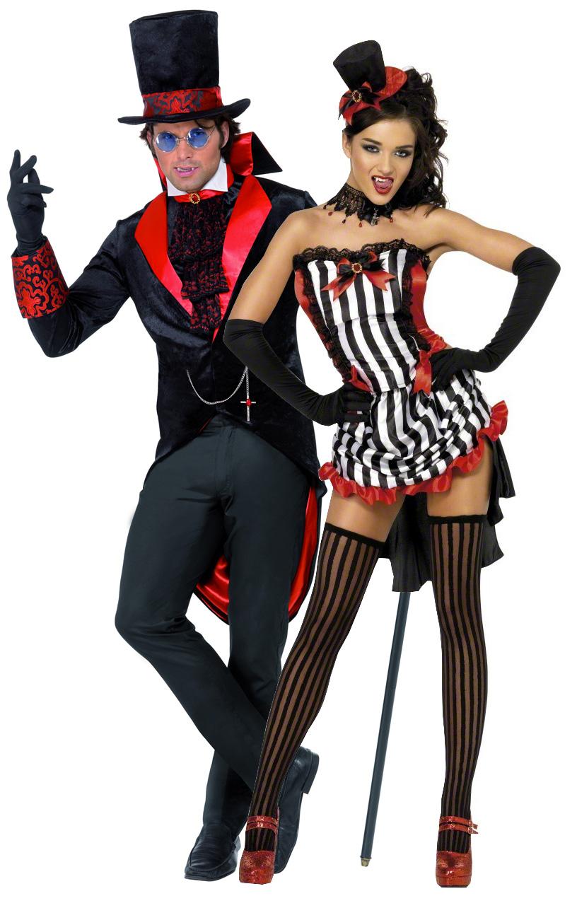 Disfraces de pareja de vampiros ideales para Halloween Disfraces