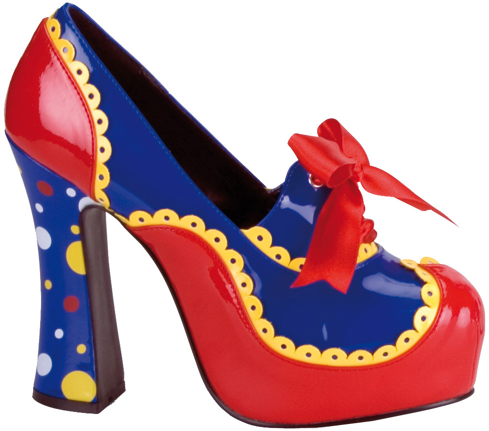 Zapatos De MujerAccesorios y Disfraces Para Payaso Originales Qrhtsd