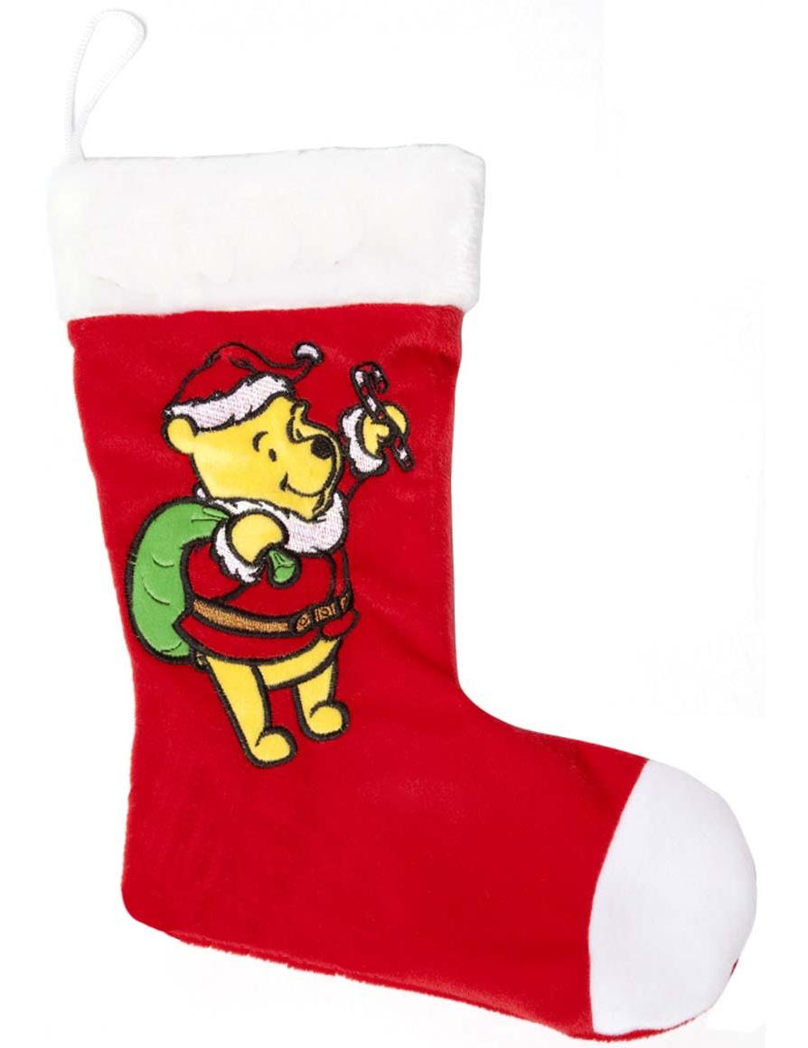 calcetn de winnie para navidad
