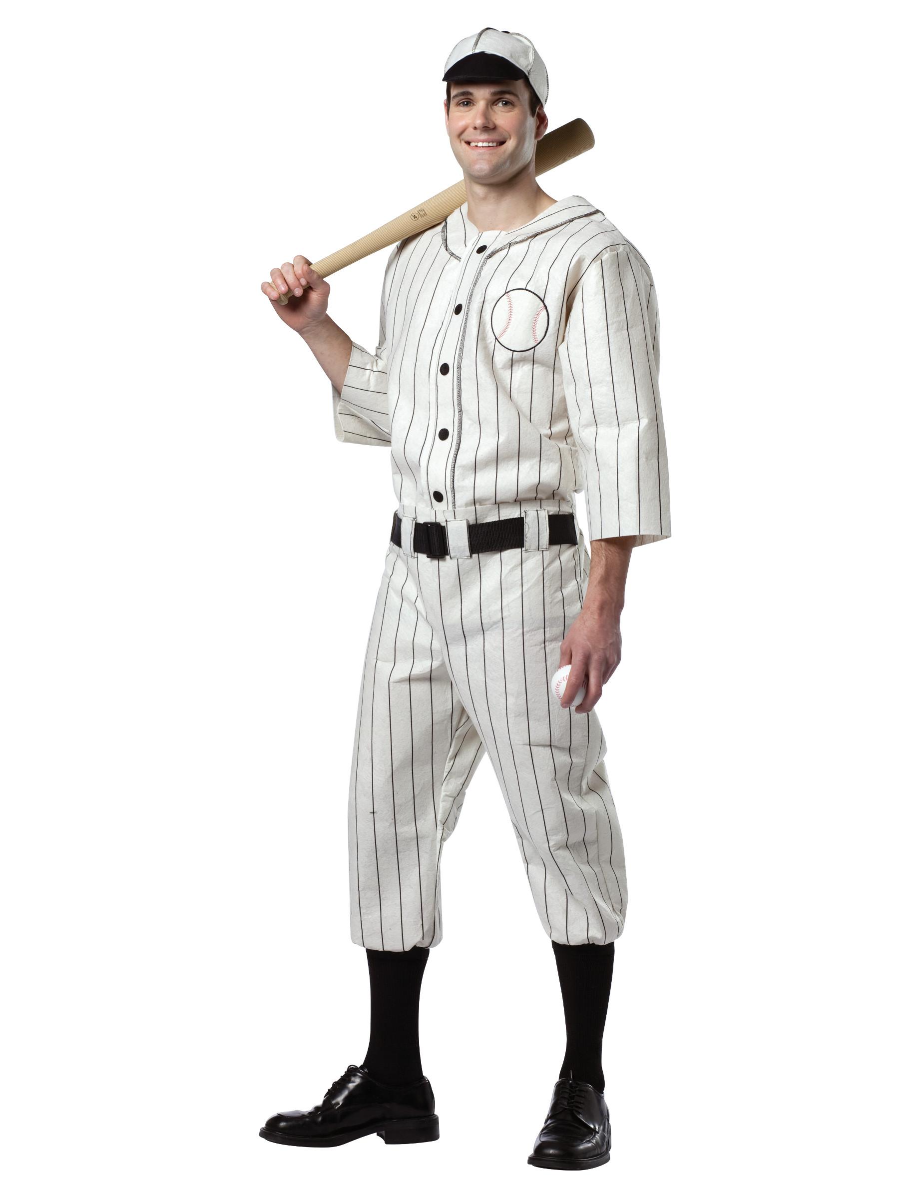 Disfraz de jugador de béisbol para hombre 3063846f2d8