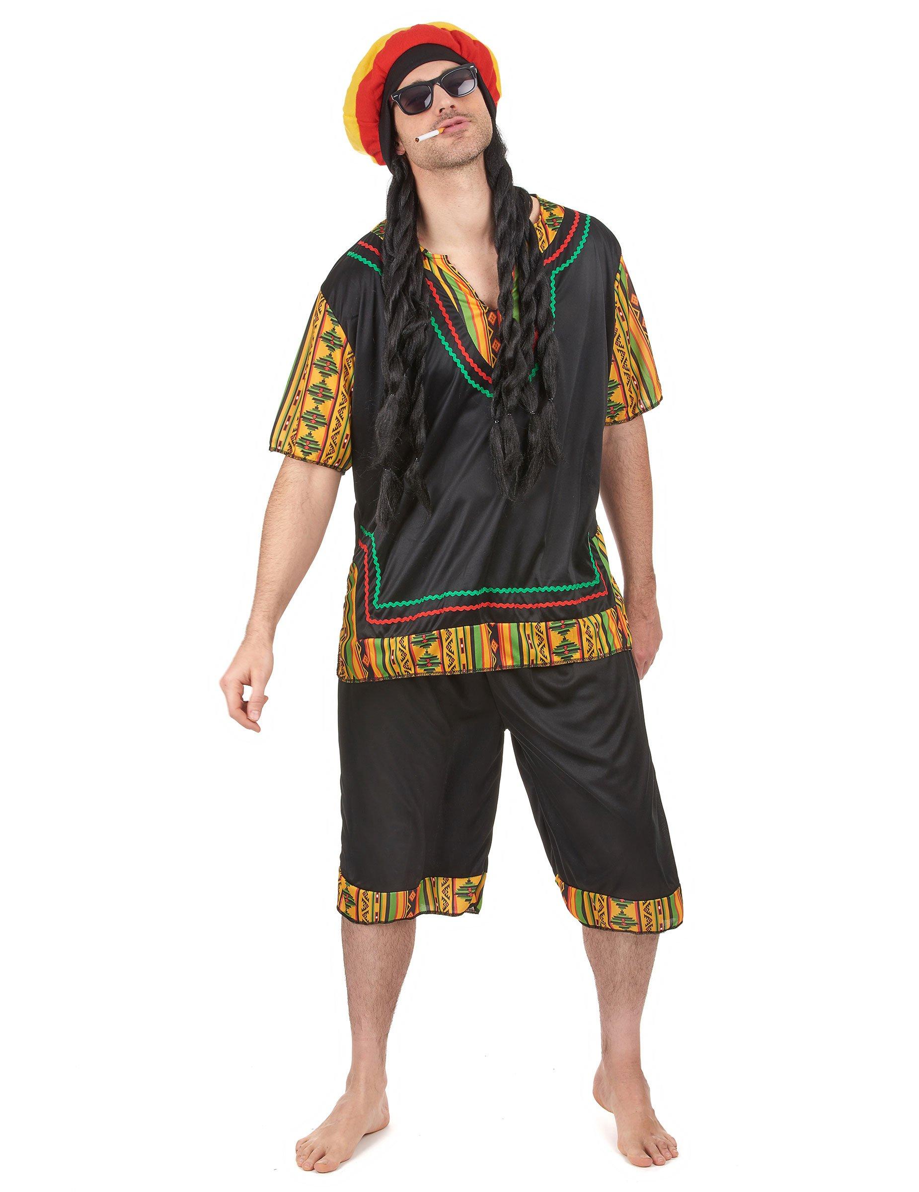 Disfraz de rastafari hombre  Disfraces adultos a4a0eb7d5e2