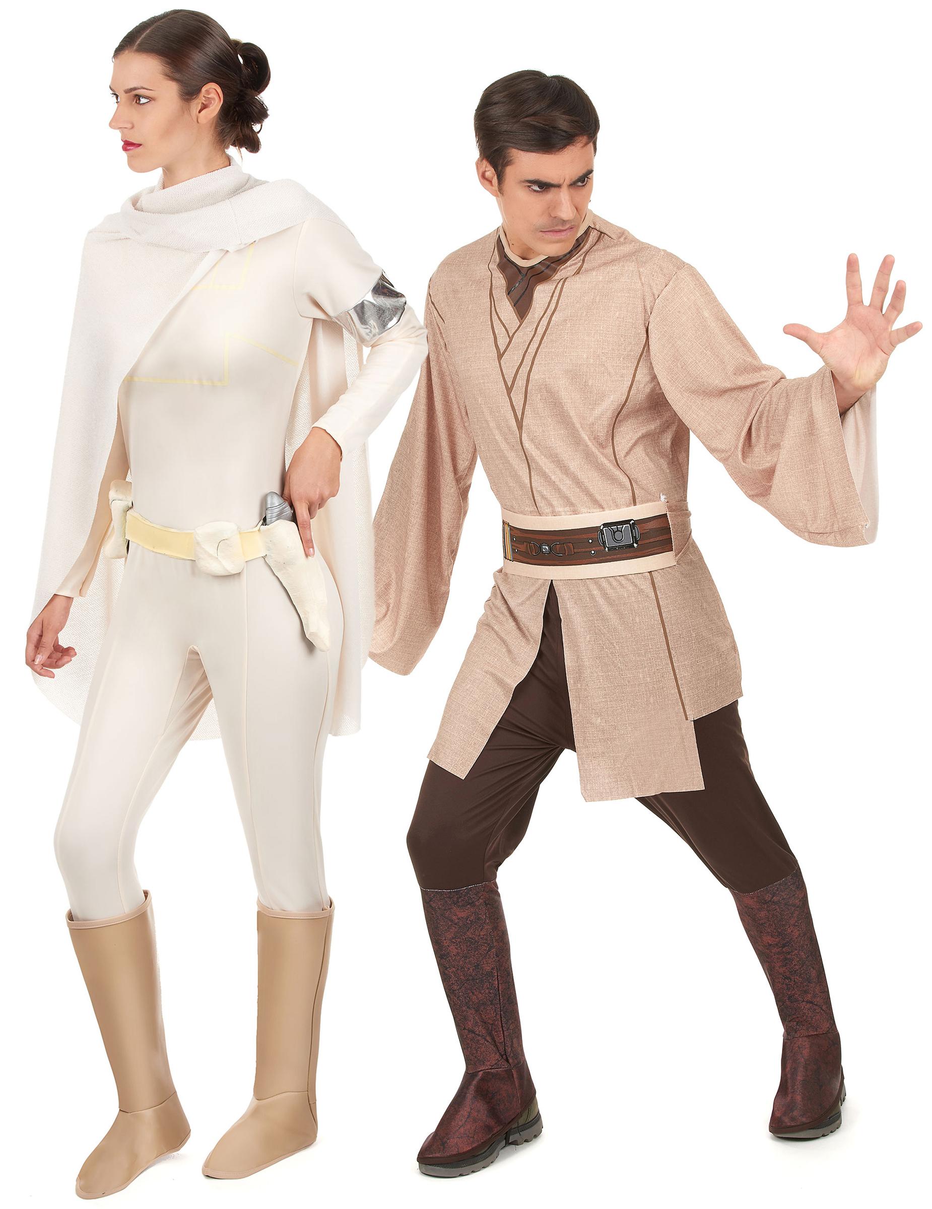 Disfraz pareja Jedi y Amidala Star Wars