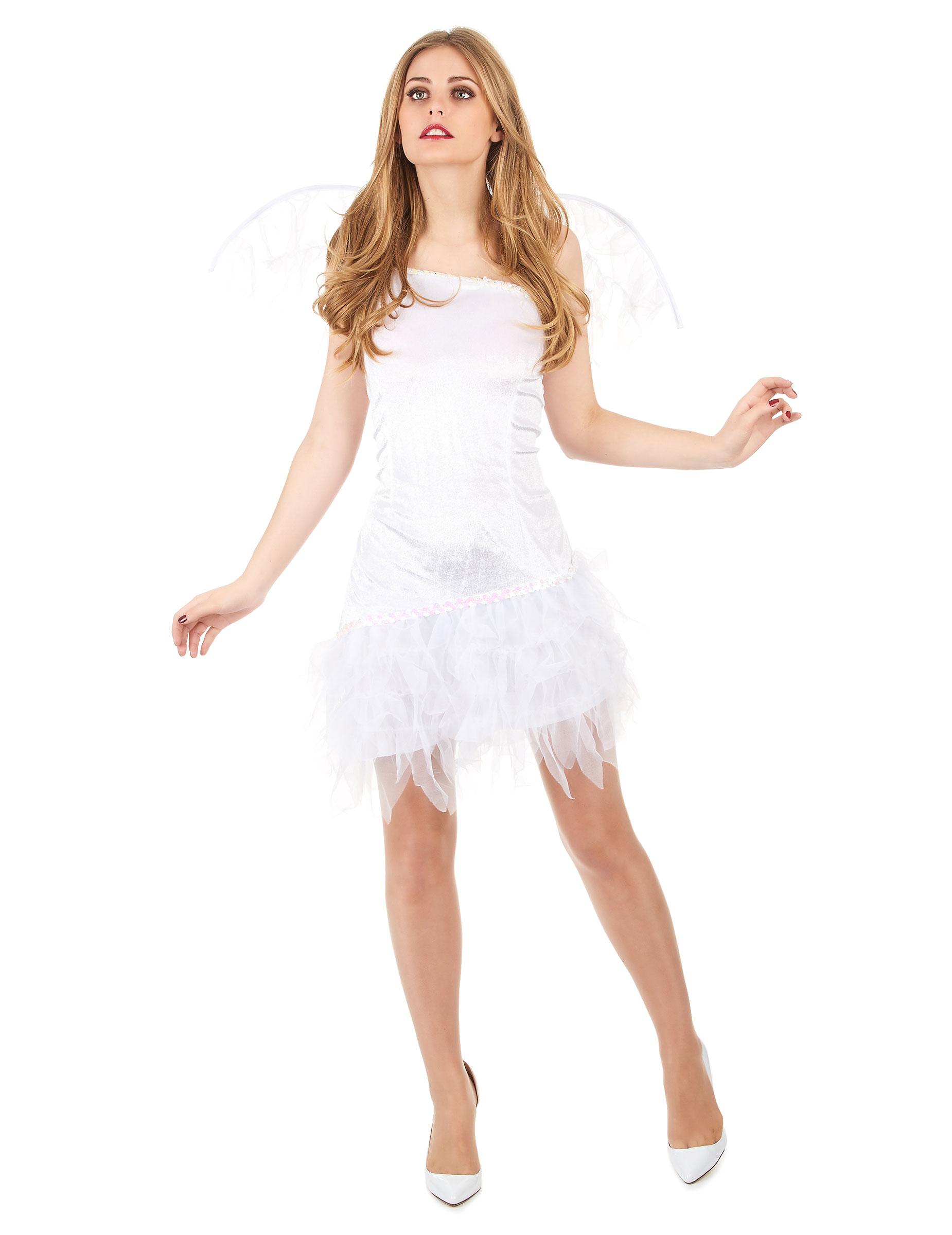 disfraz mujer angel