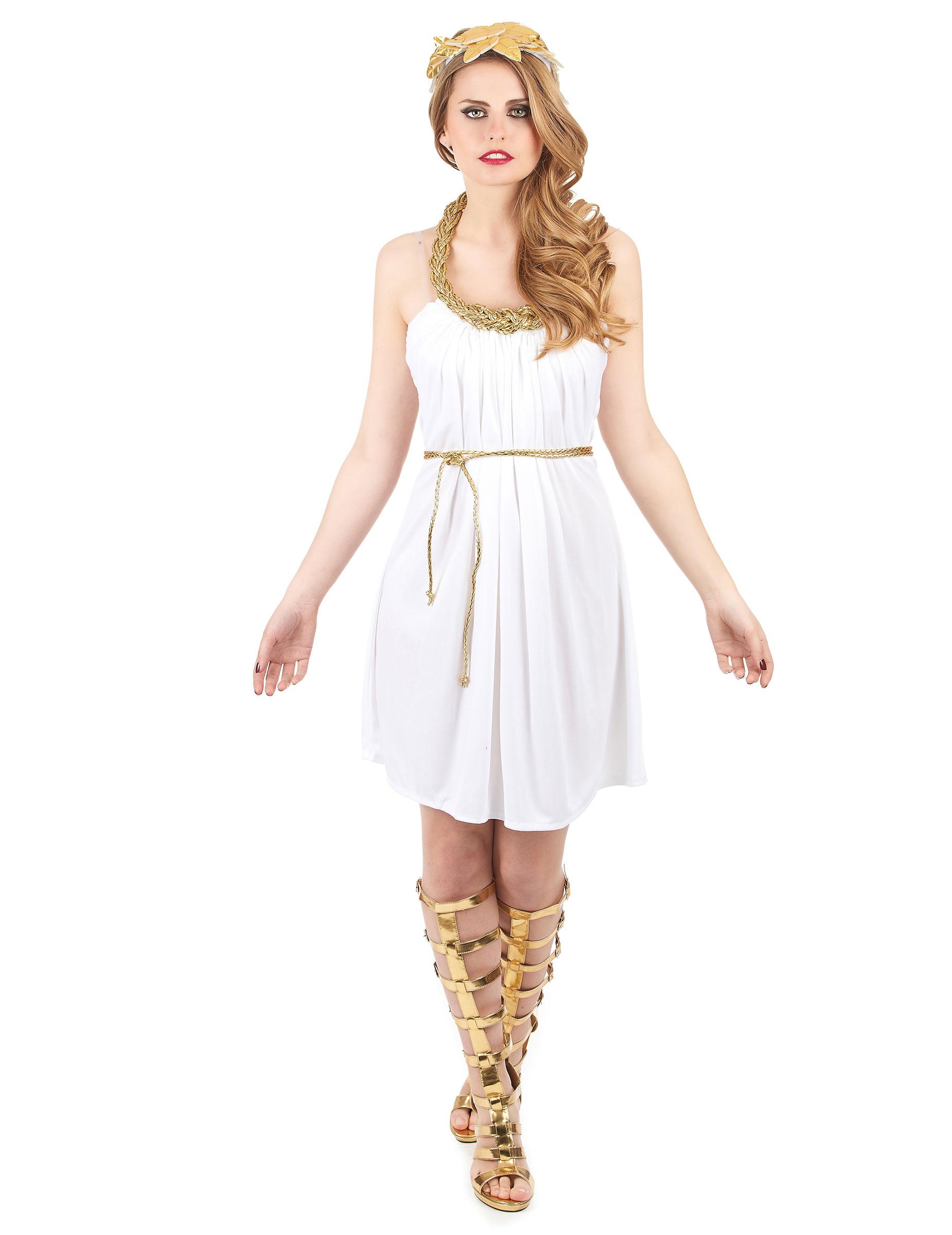 disfraz mujer griega