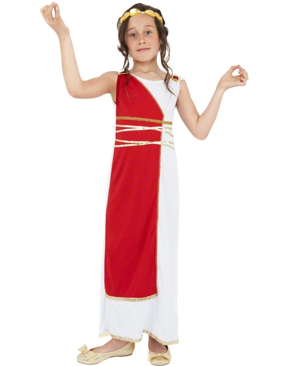 Resultado de imagen de disfraz griega niña