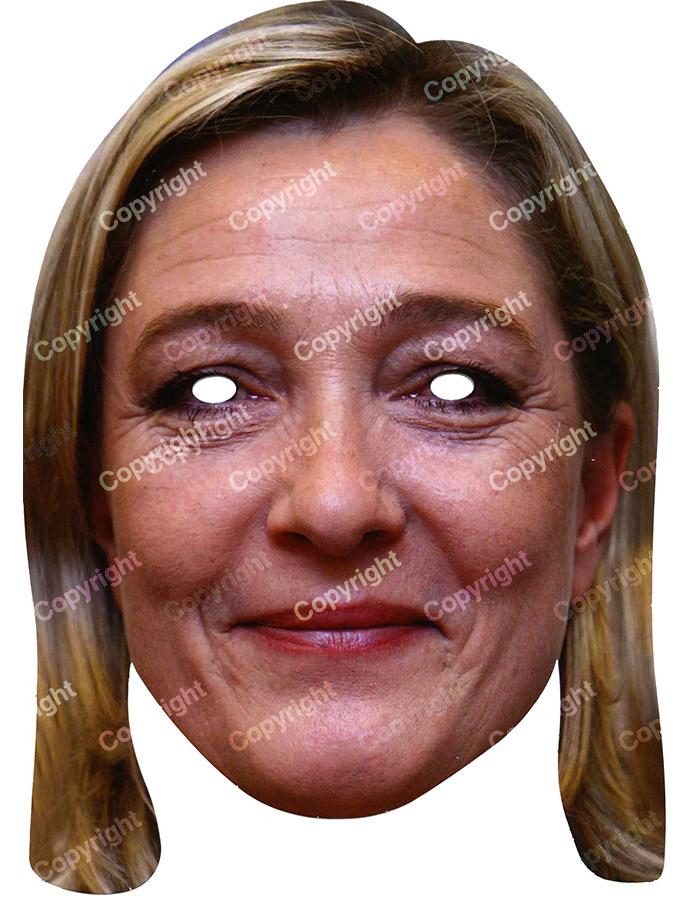 Careta de Marine Le Pen : Máscaras,y disfraces originales baratos ...