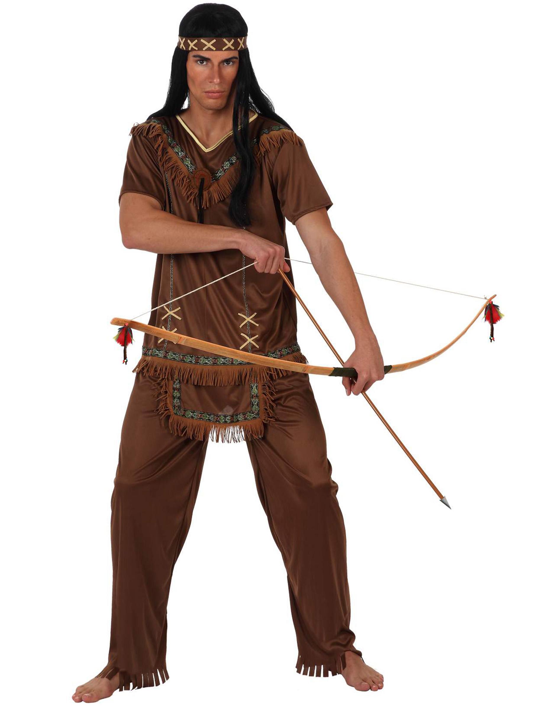Venta de disfraces indios para adultos