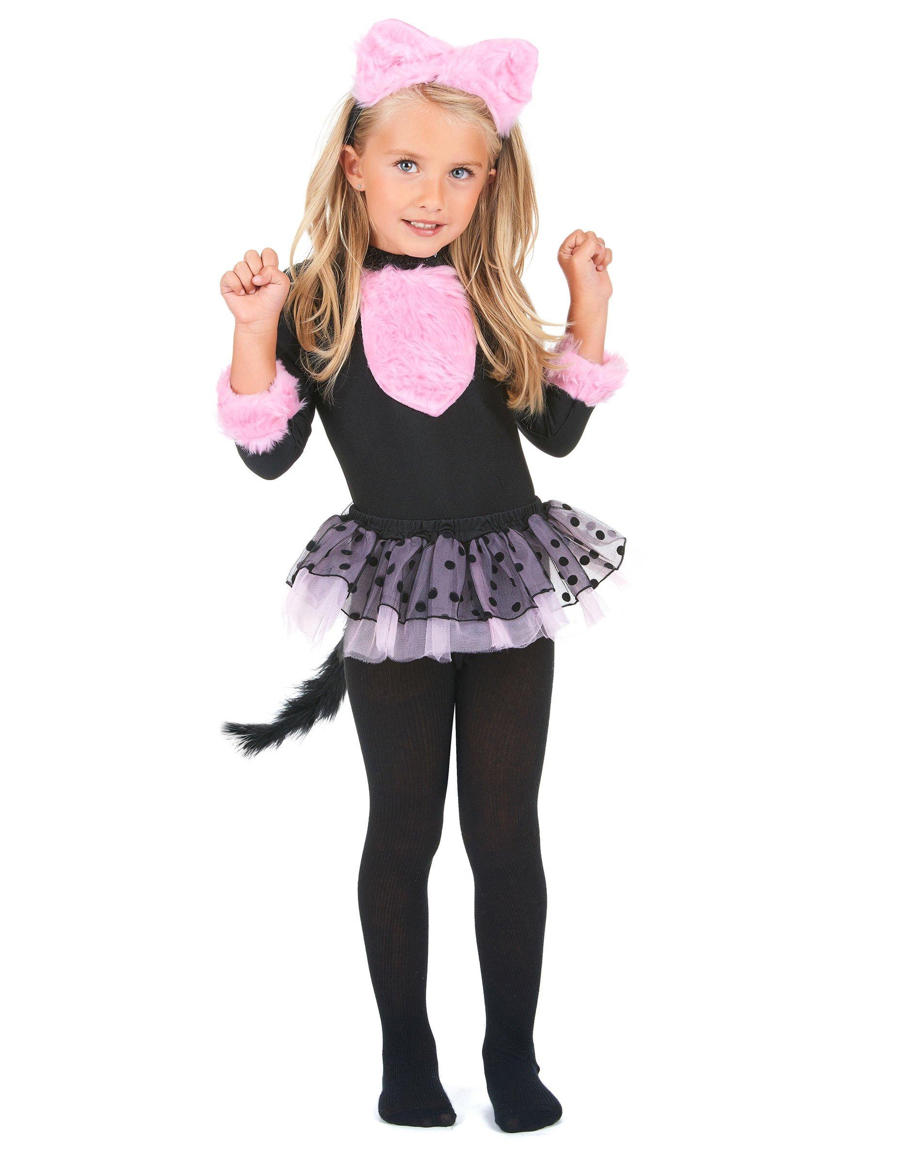 disfraz de gato para nia