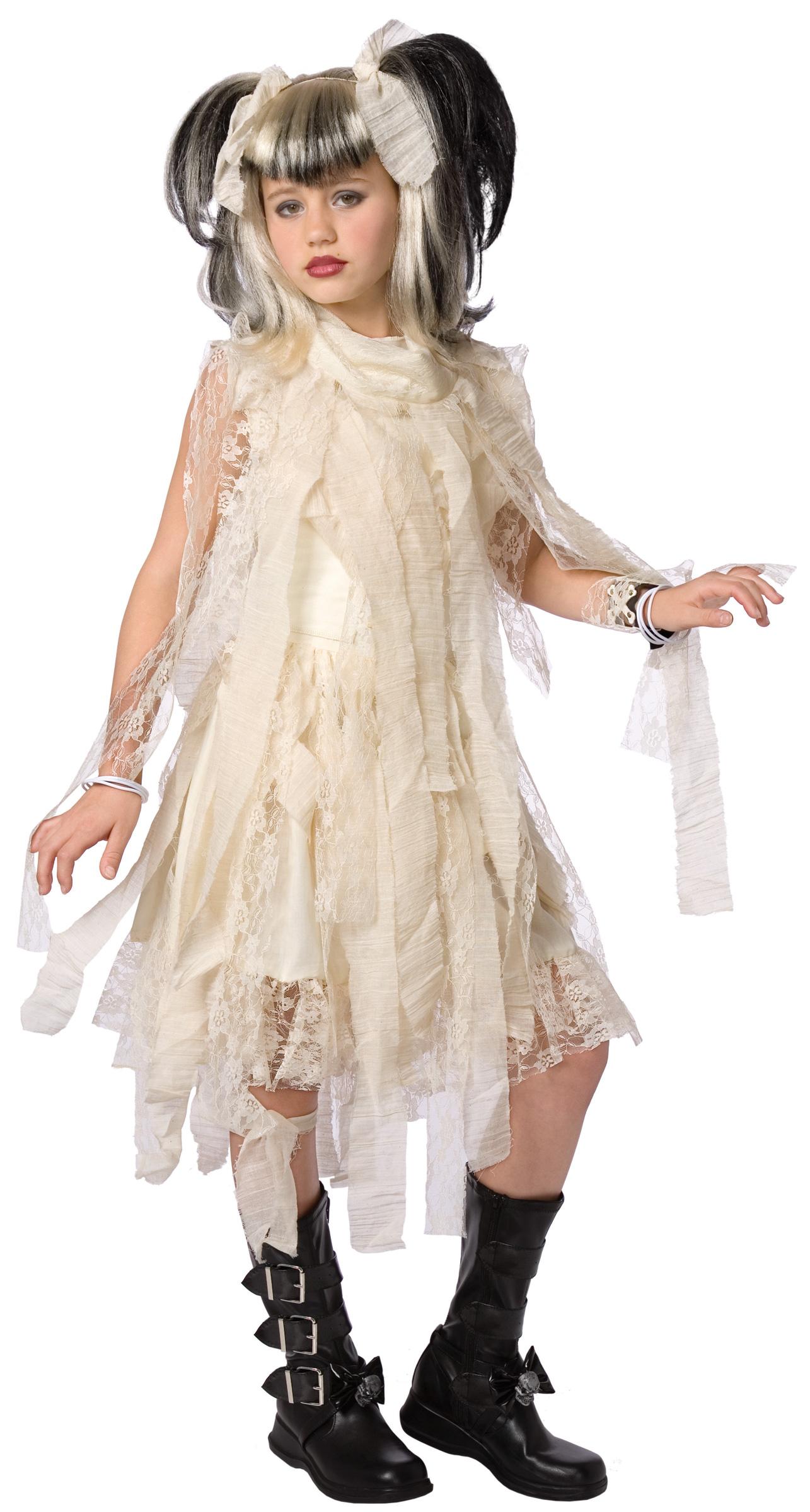 disfraz novia gtica para nia