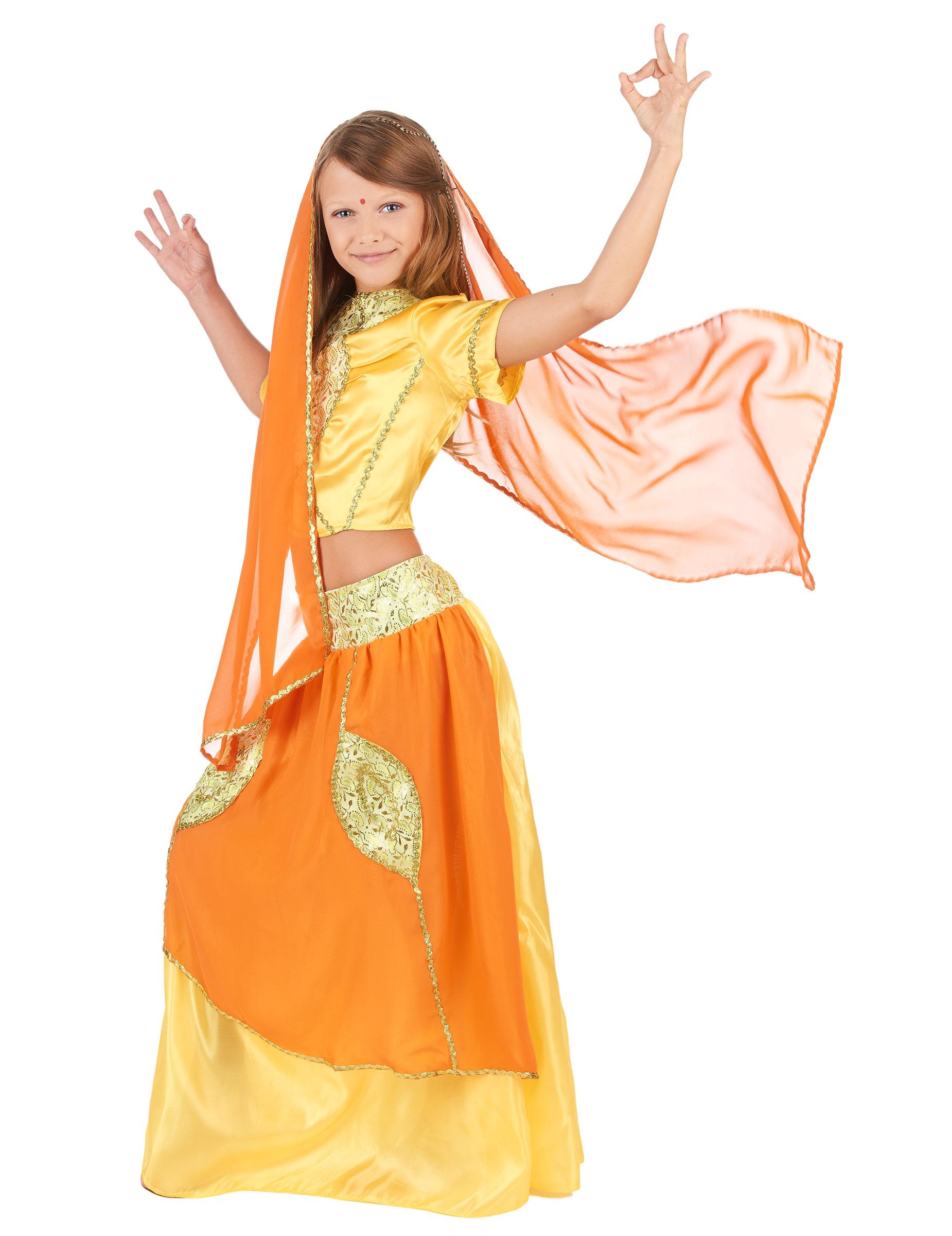 disfraz de princesa india bollywood para nia