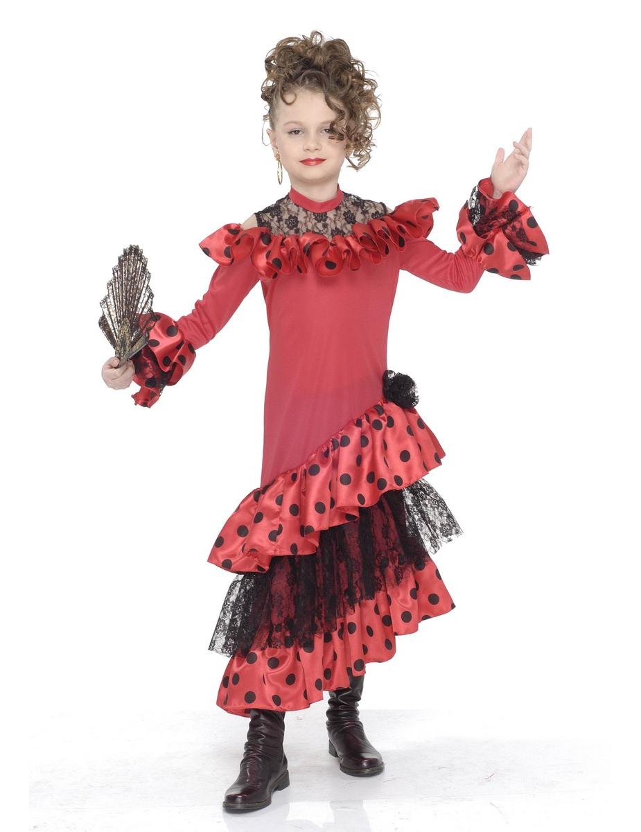 68ad97558 Disfraz de bailaora de flamenco para niña