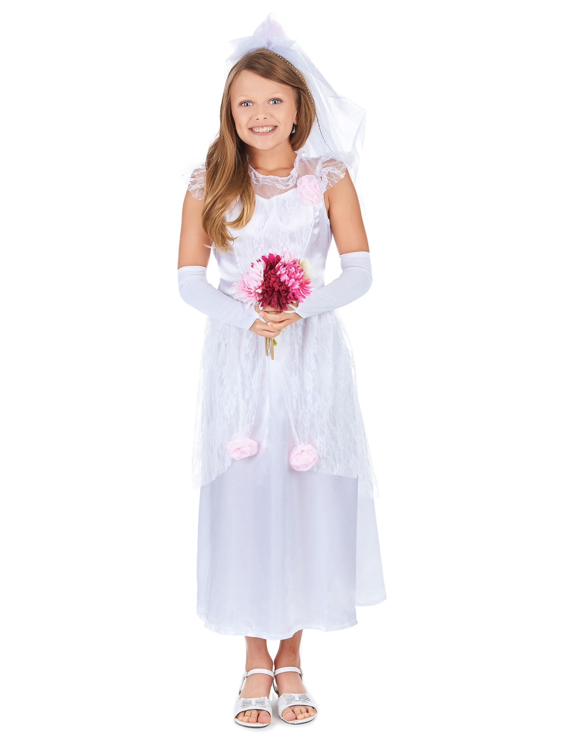 Disfraz de novia para ni a disfraces ni os y disfraces - Disfraces para bebes nina ...