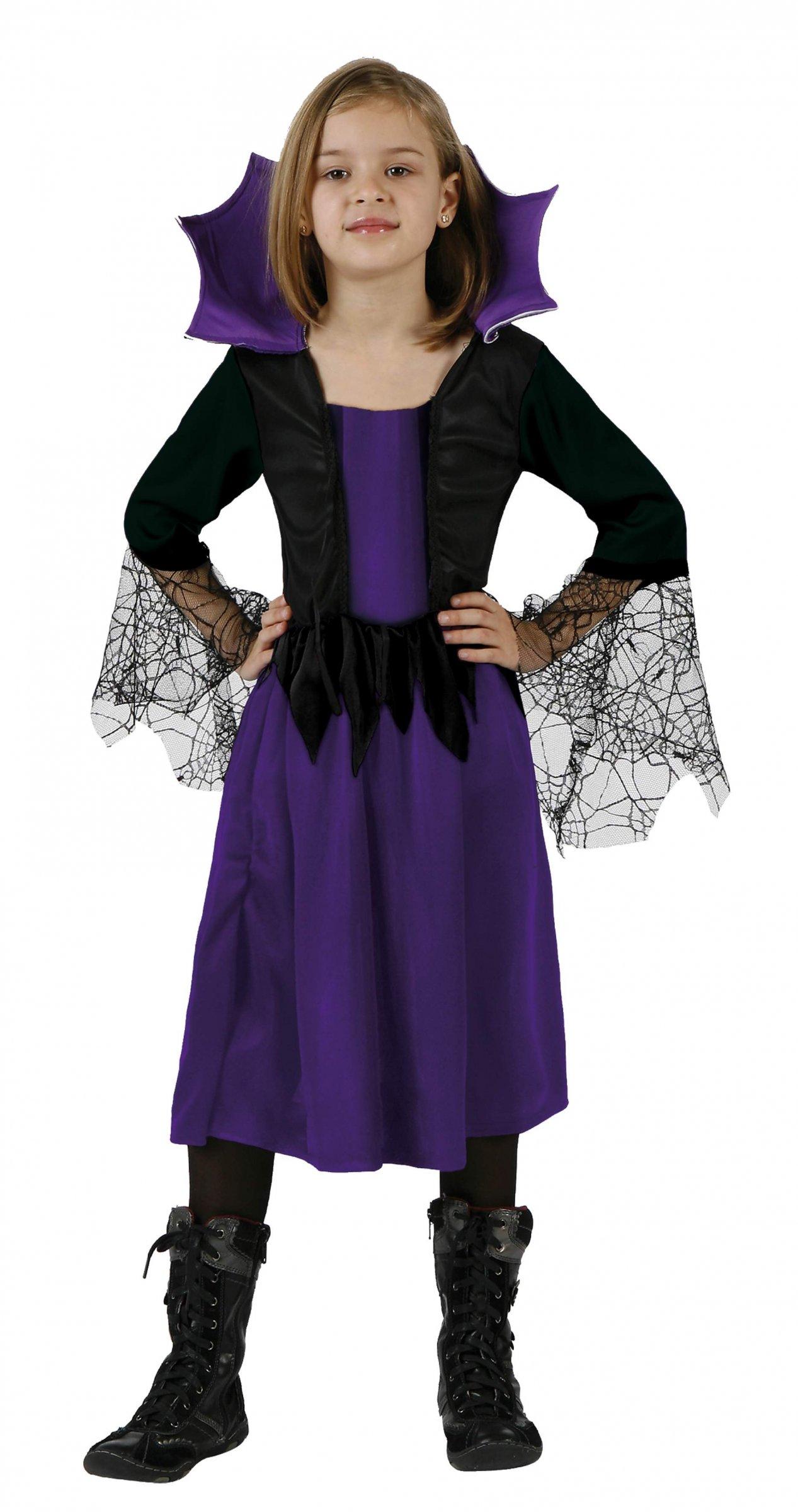 Disfraz de bruja araña para niña: Disfraces niños,y disfraces ...