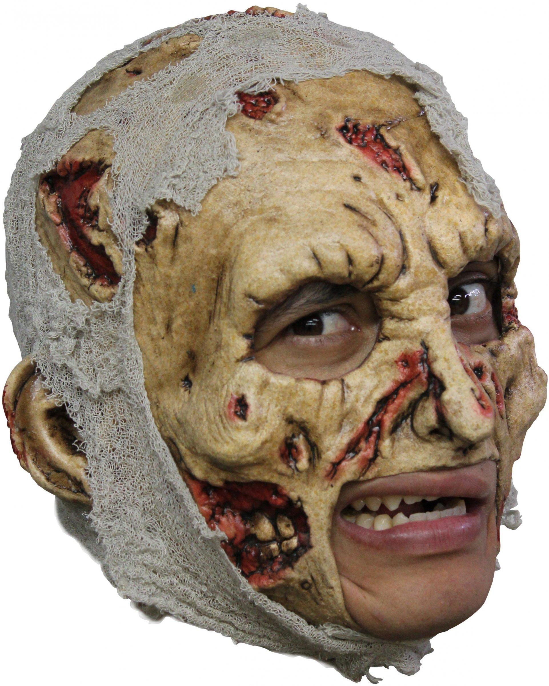 Mscara de zombie para adulto Halloween Mscarasy disfraces