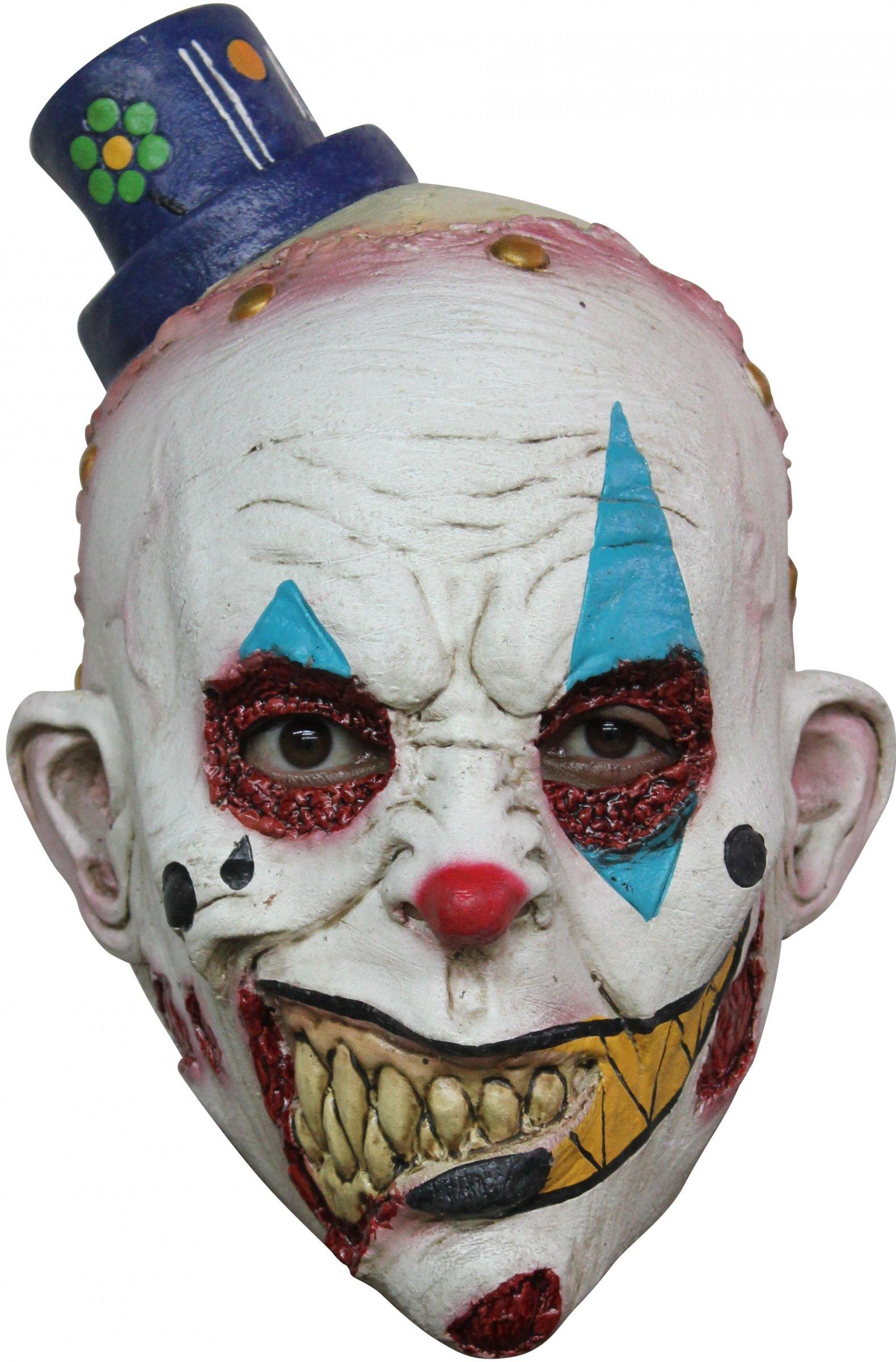 Mscara de payaso asustadizo nio Halloween Mscarasy disfraces
