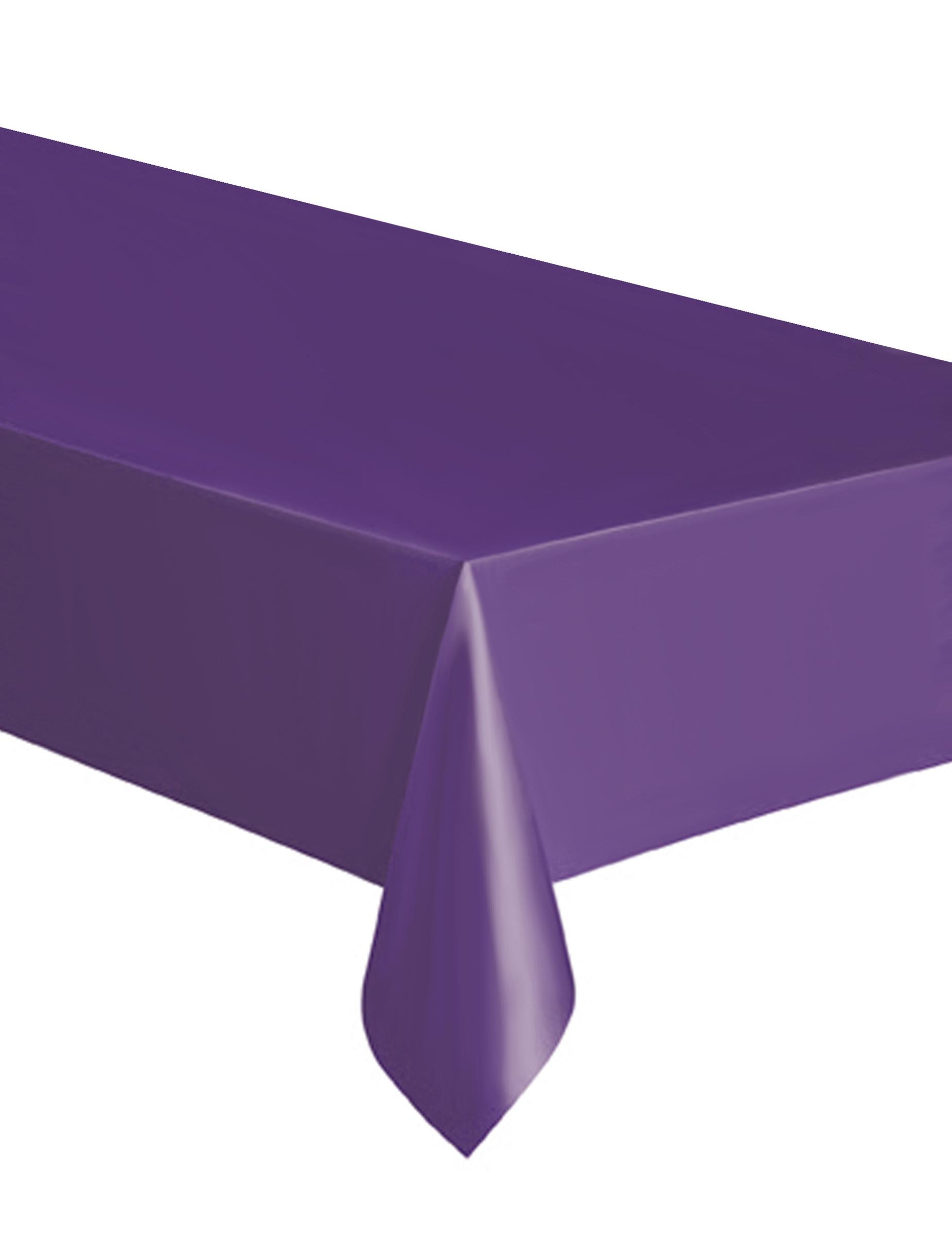 Mantel rectangular violeta pl stico decoraci n y disfraces originales baratos vegaoo - Mantel plastico ...