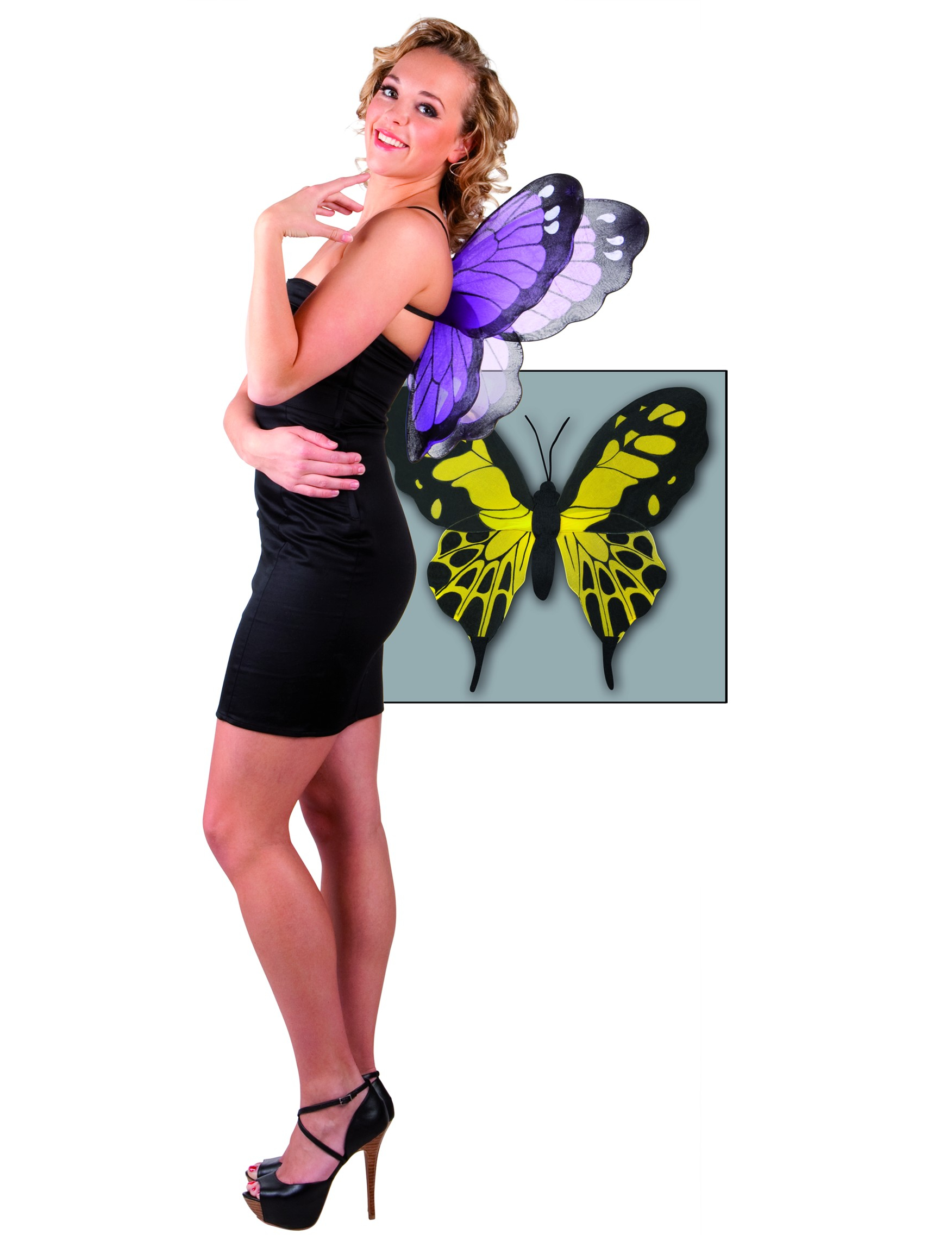 Venta al por mayor de traje de mariposa adultos -