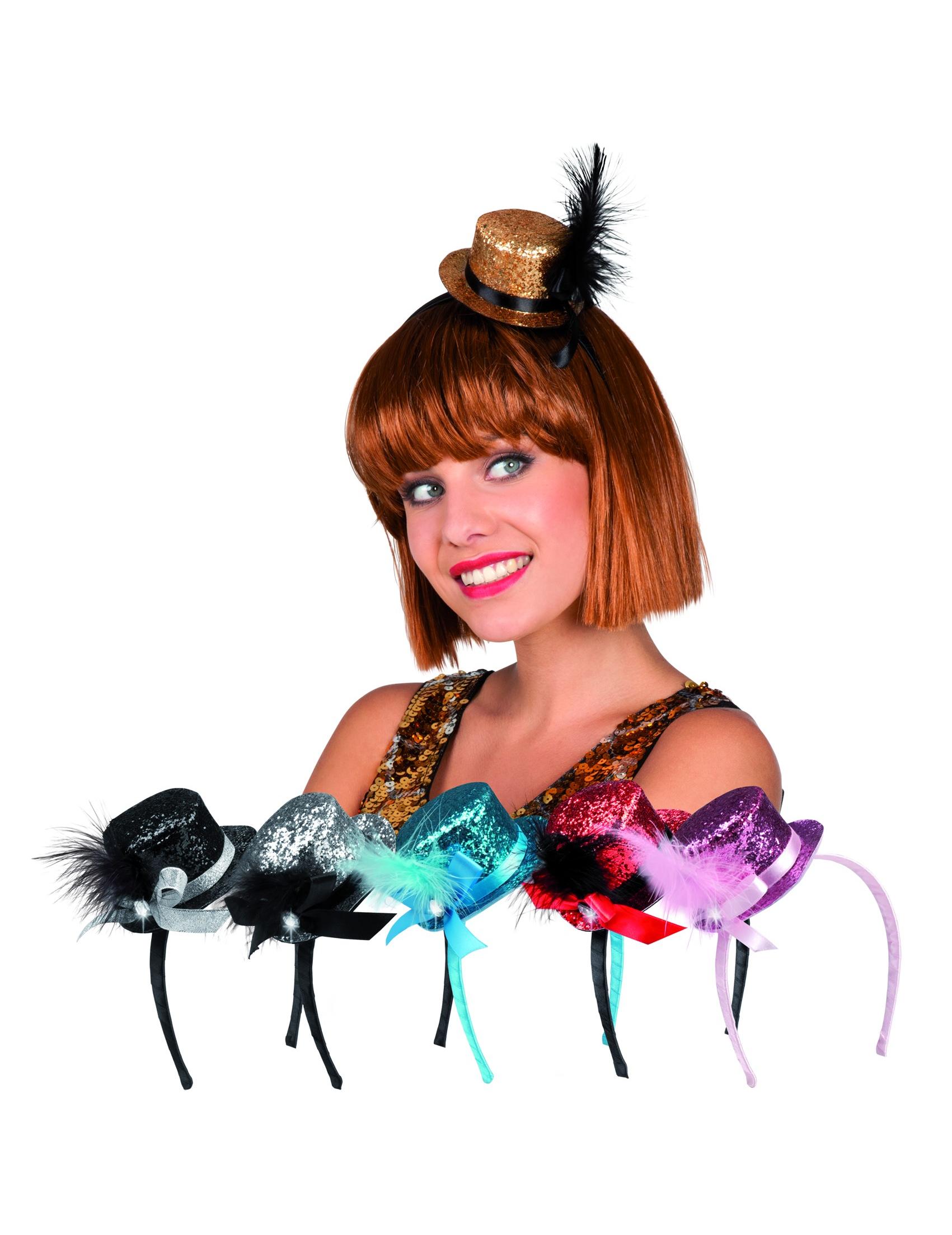Sombreros Mini sombreros para disfraces y fiestas de cumpleaños ... 0dccb75bd89