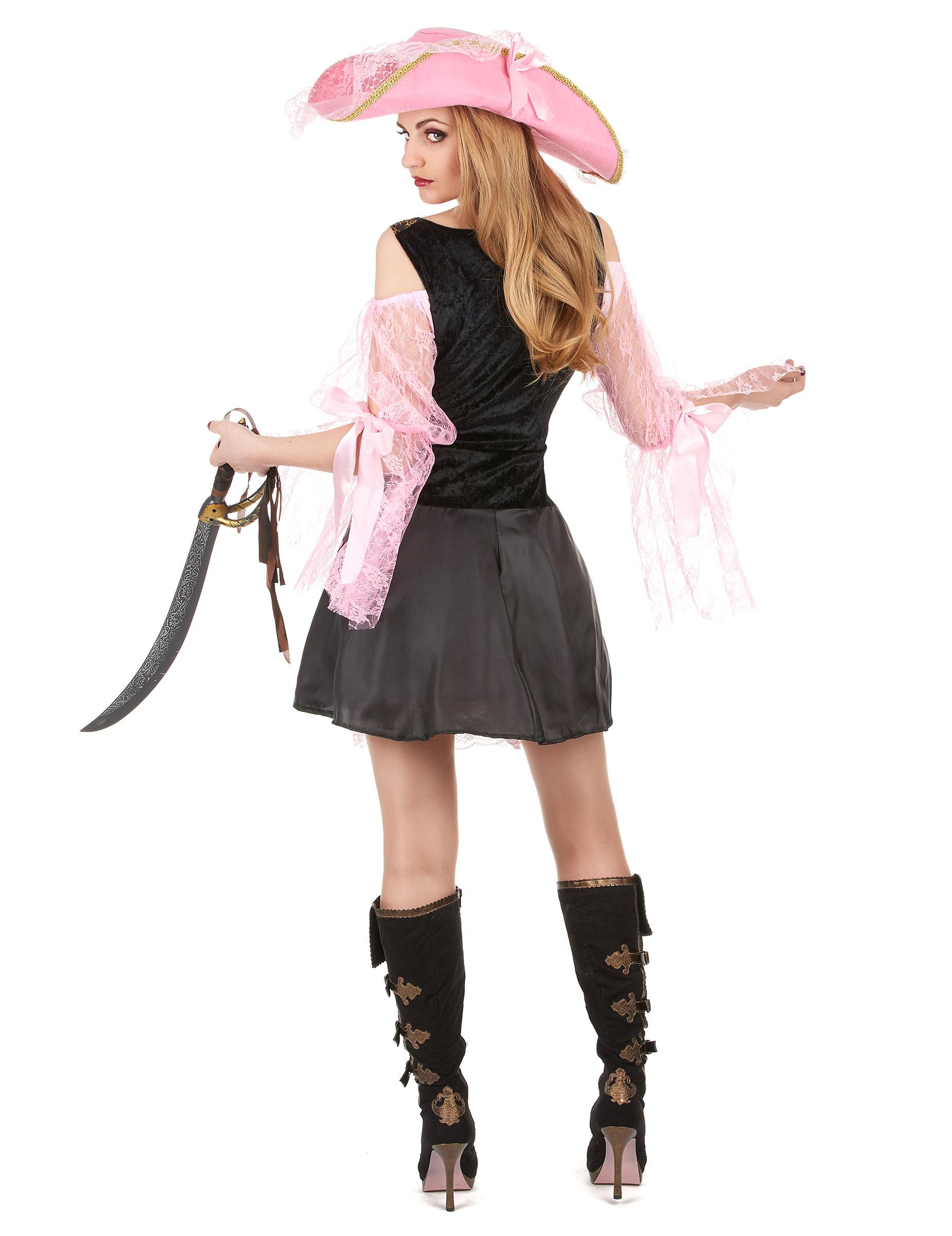 disfraz de pirata de lujo