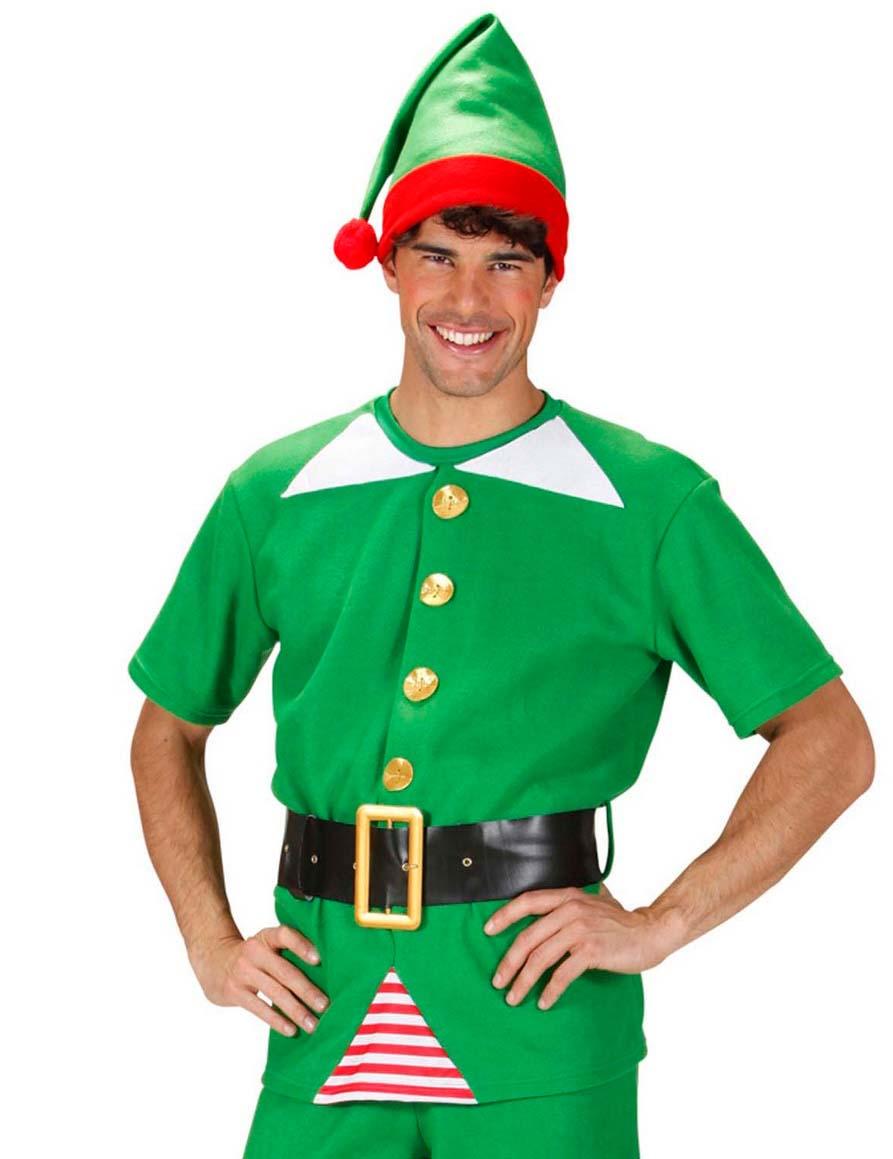 disfraz de elfo de navidad