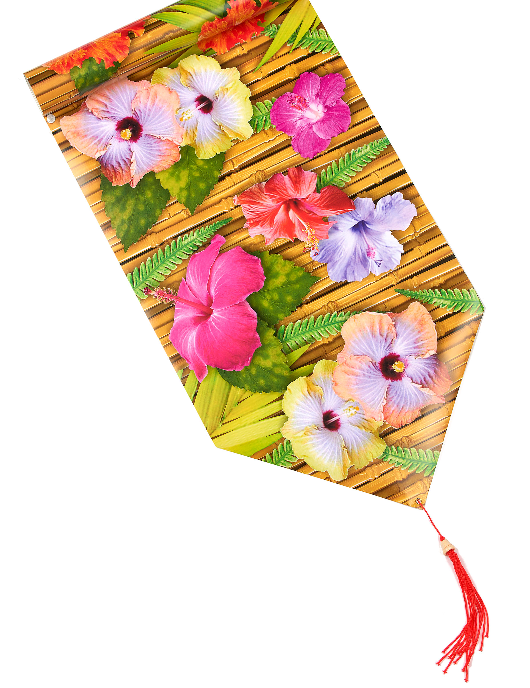 Camino de mesa de flores hawai for Achat decoration