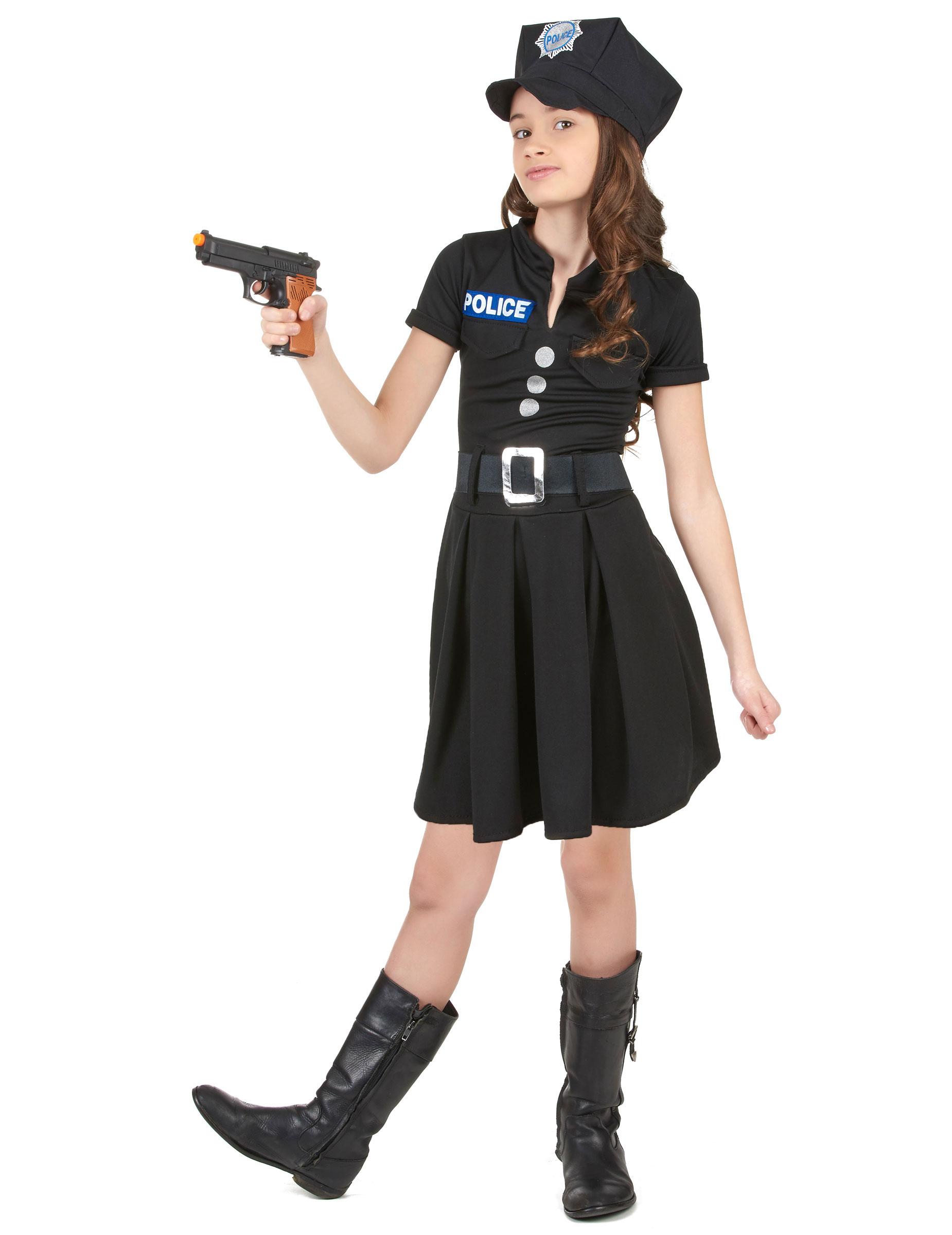 7b3762ebc Disfraz de policía para niña