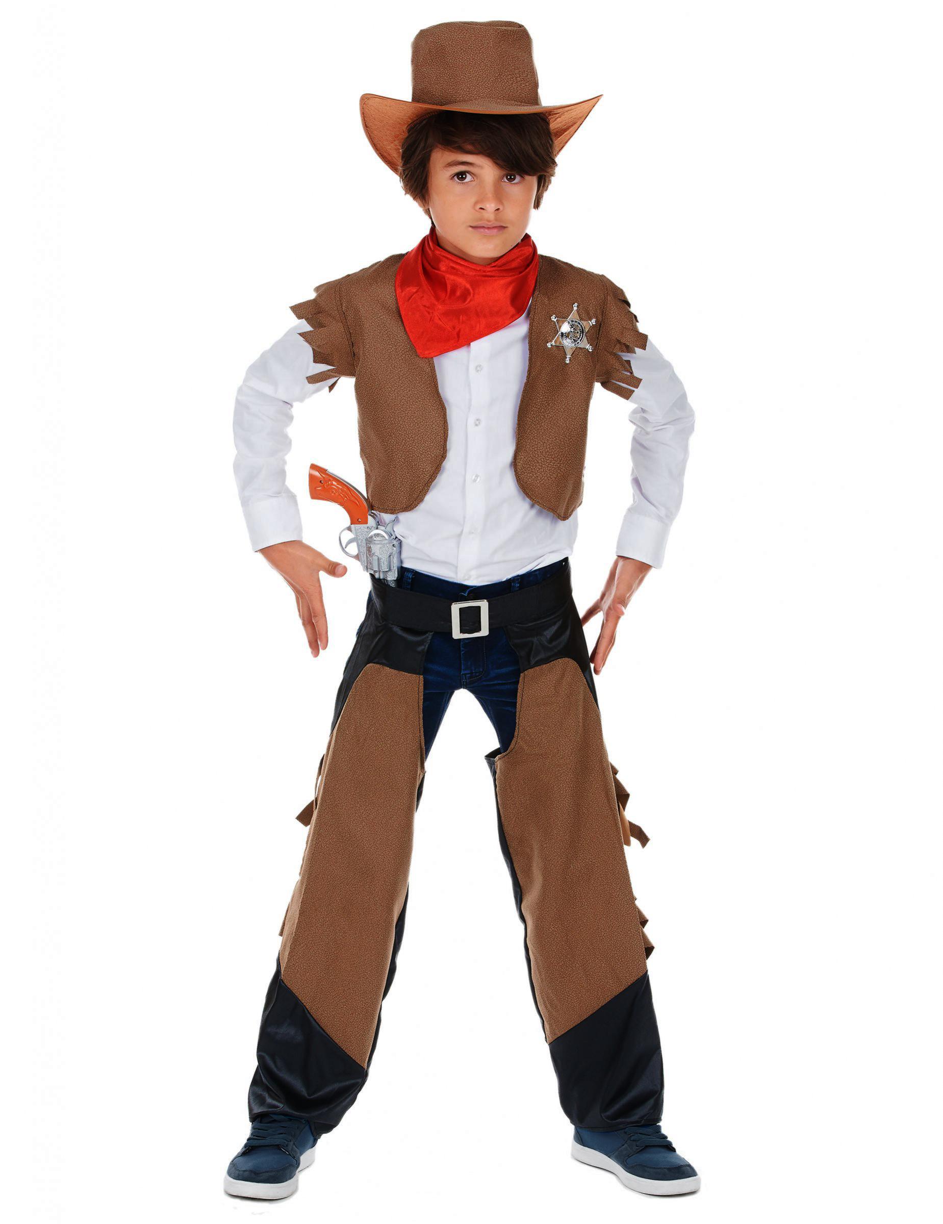 Disfraz de vaquero para niño Western  Disfraces niños 1a10f594955