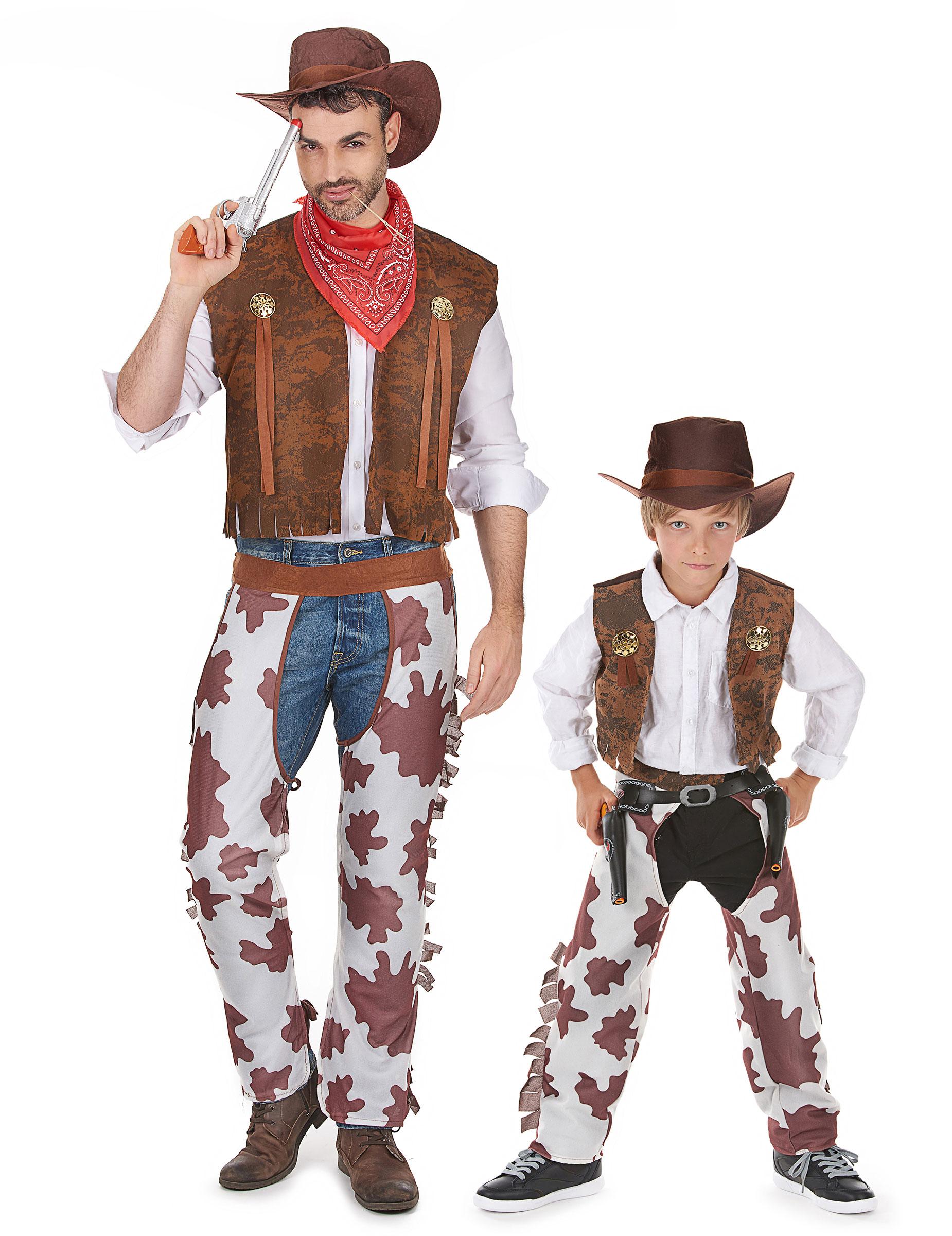 Disfraz de pareja vaquero padre e hijo disfraces parejas - Trajes de carnavales originales ...