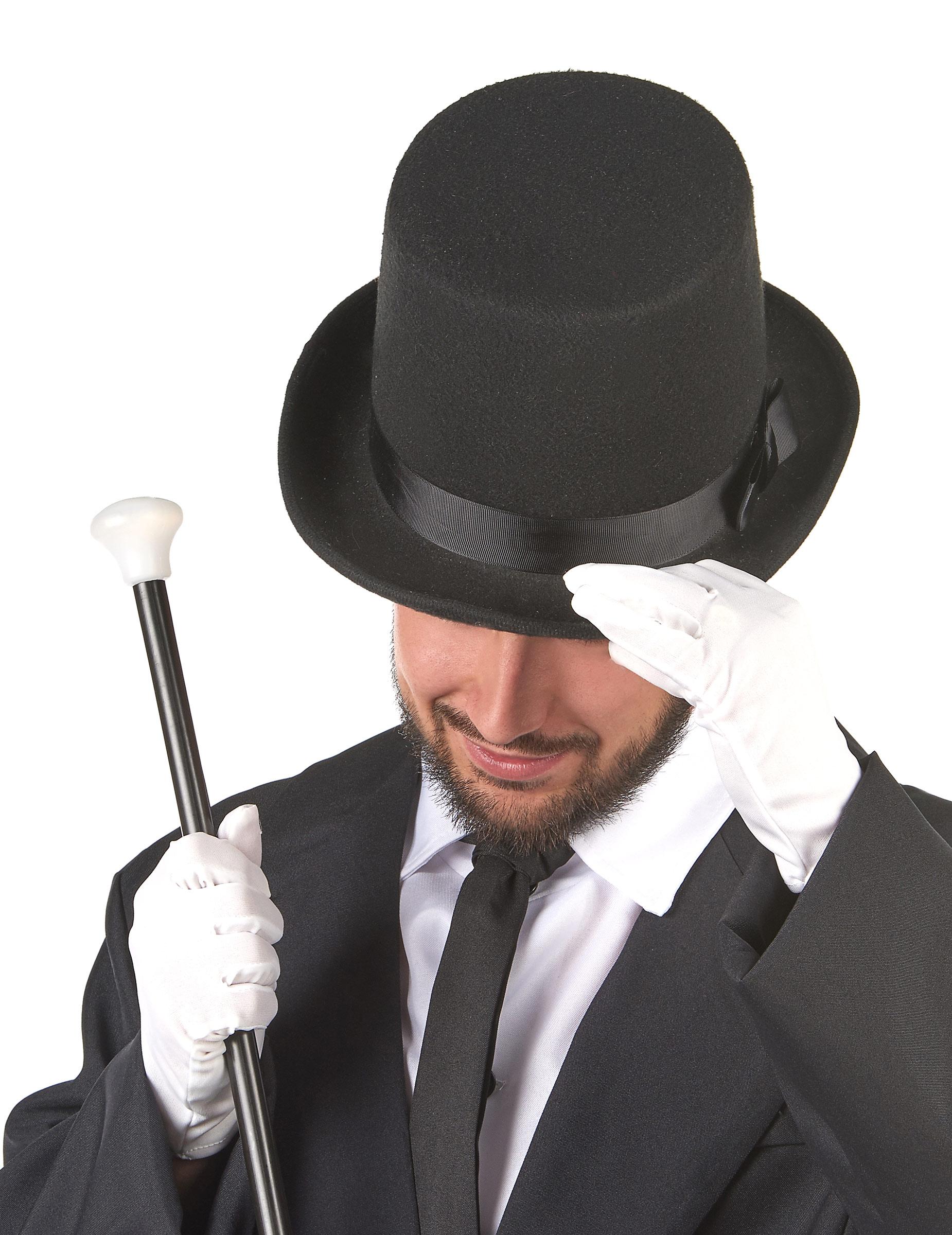 Sombrero de copa negro  Sombreros 1cd41c276edf