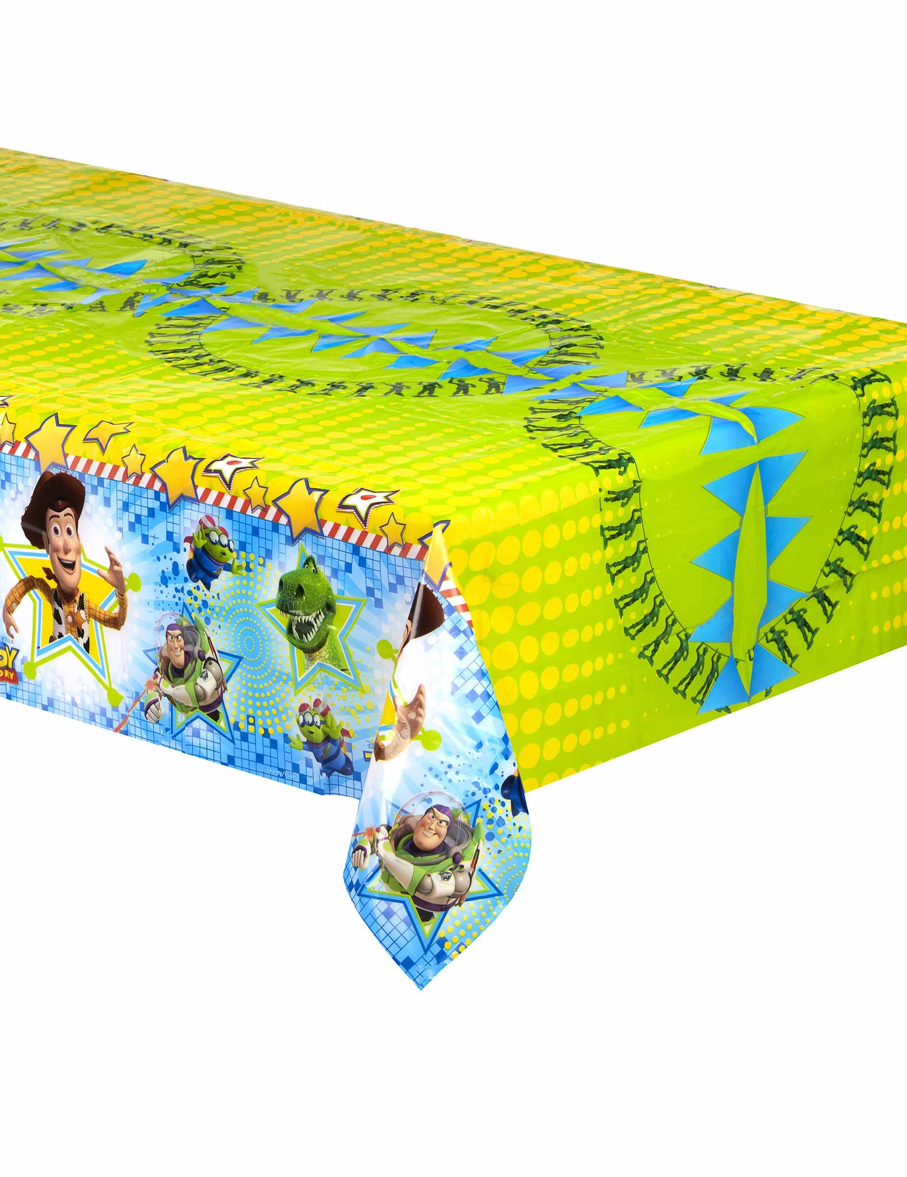 Mantel pl stico toy story decoraci n y disfraces originales baratos vegaoo - Mantel plastico ...