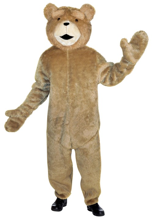 Disfraz oso Ted™ para adulto