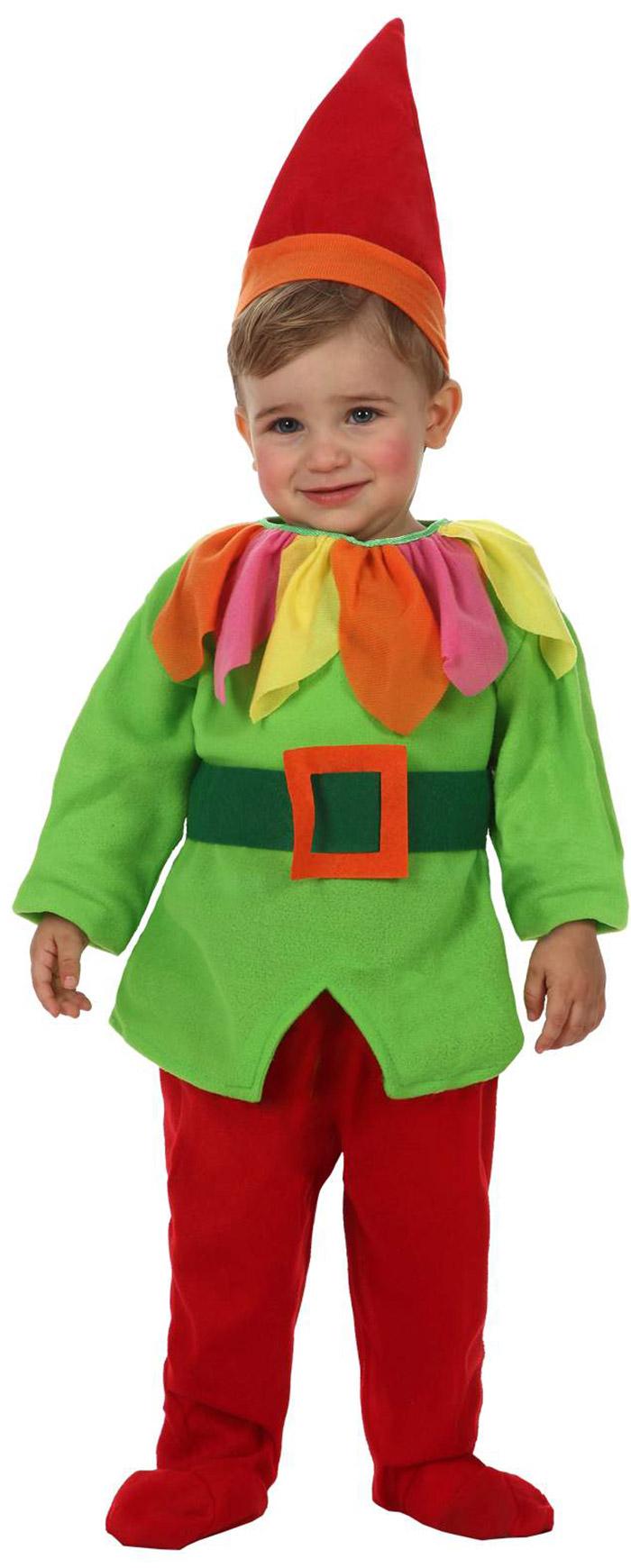 Disfraz de elfo duende beb - Disfraces navidenos para bebes ...