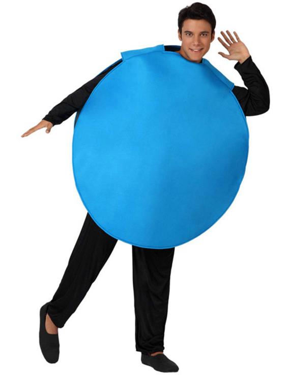 Disfraz de blues adulto azul