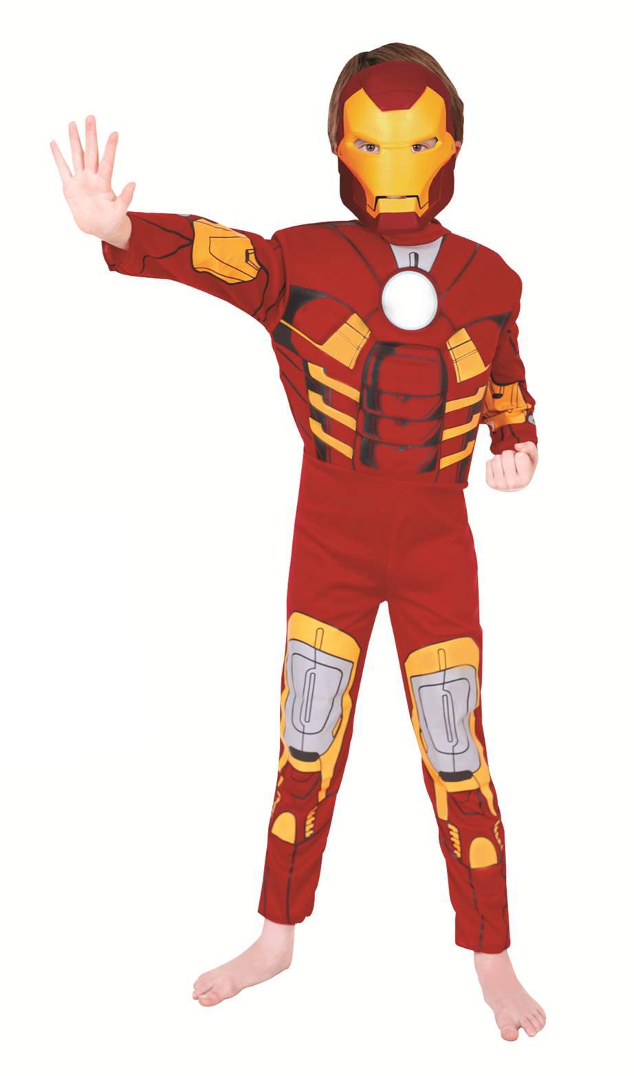 Disfraz Iron Man Lujo Para Ni 241 O Disfraces Ni 241 Os Y