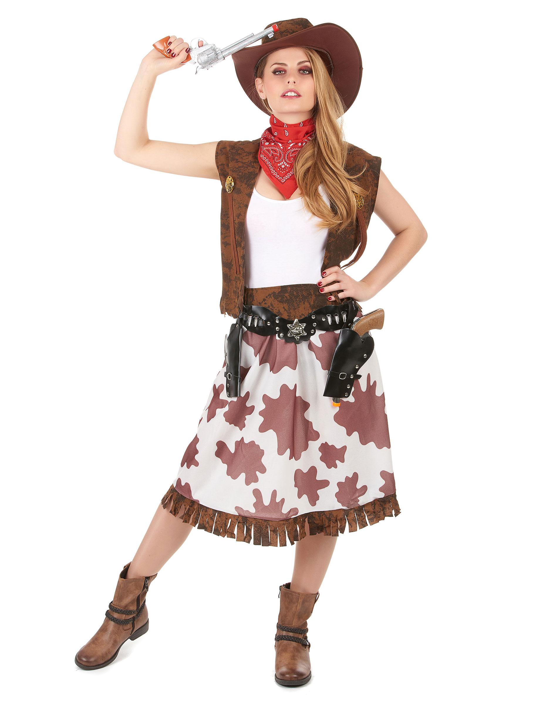 Disfraz De Vaquera Mujer Disfraces Adultos Y Disfraces