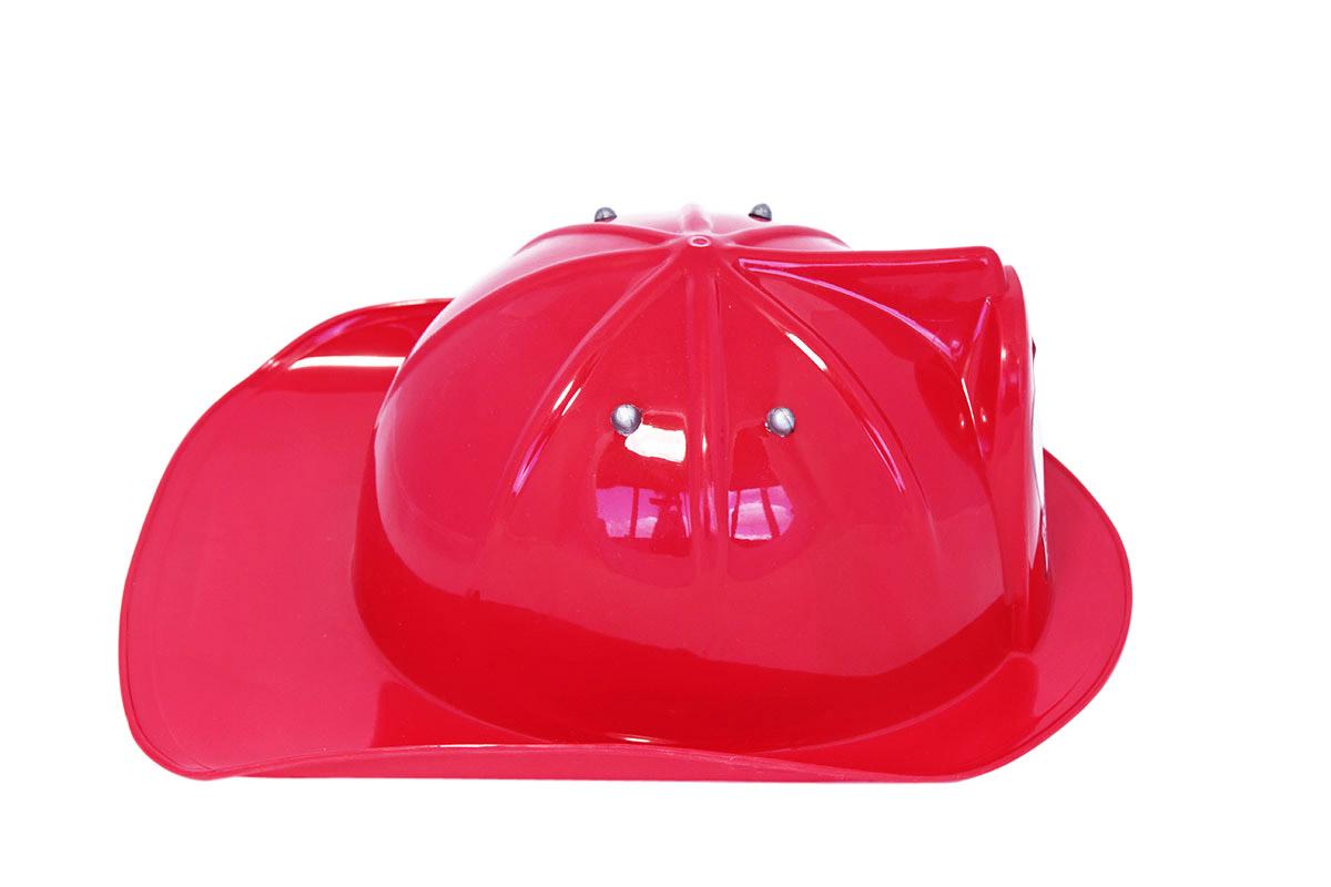 Casco de bombero rojo niño  Sombreros 89e36d33140
