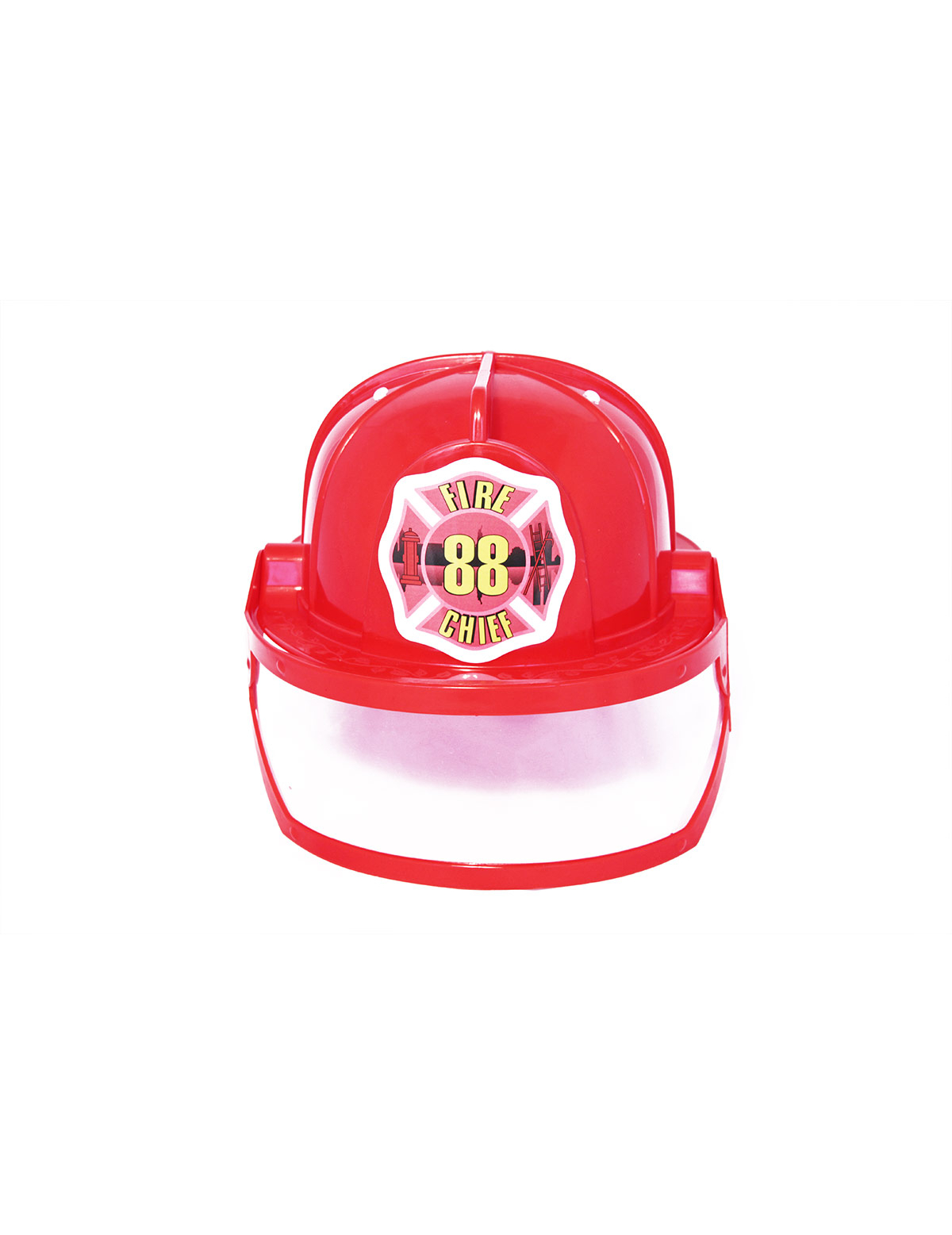 Casco bombero adulto  Sombreros c0da9c3410d