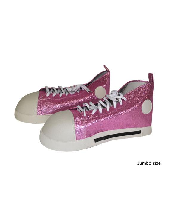 Zapatos de payaso de color rosa  Accesorios 809353fa6e7d