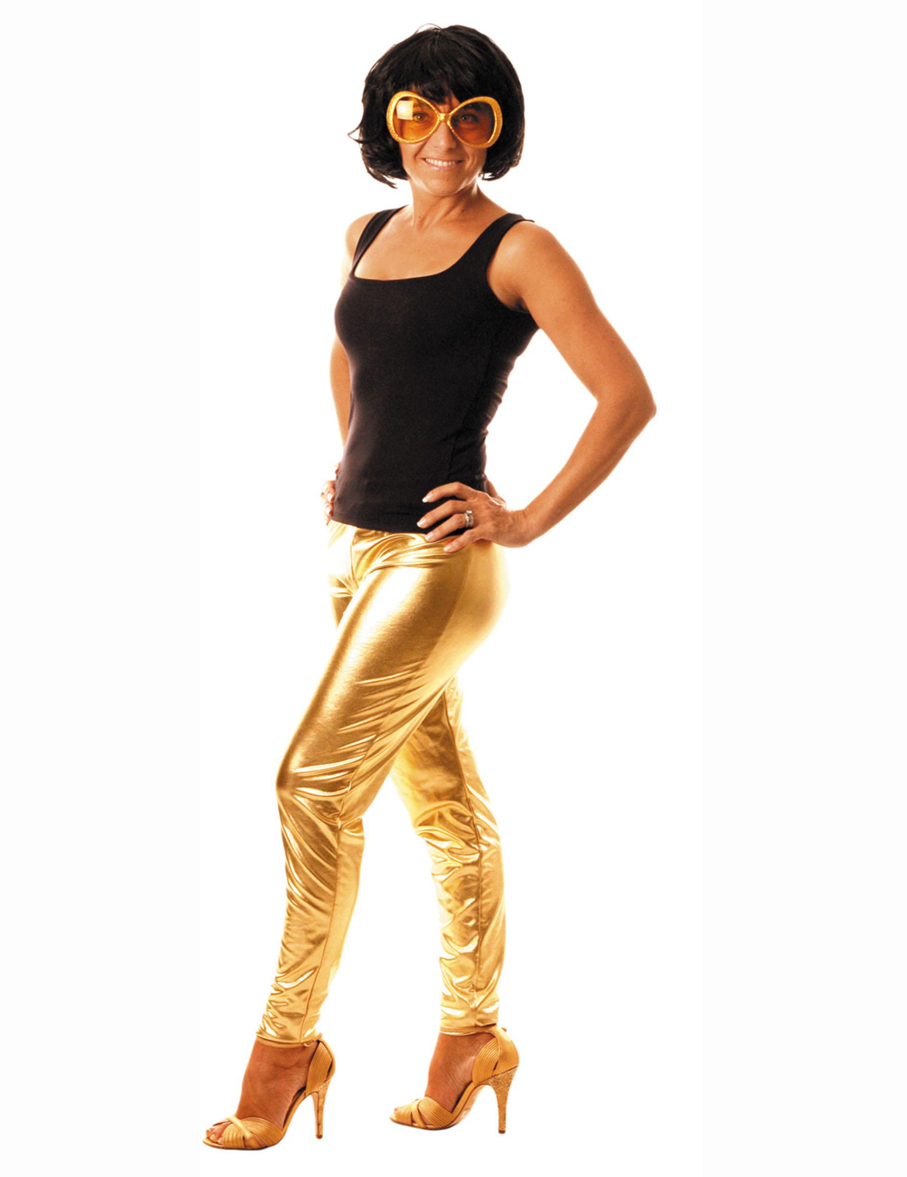 Legging dorado