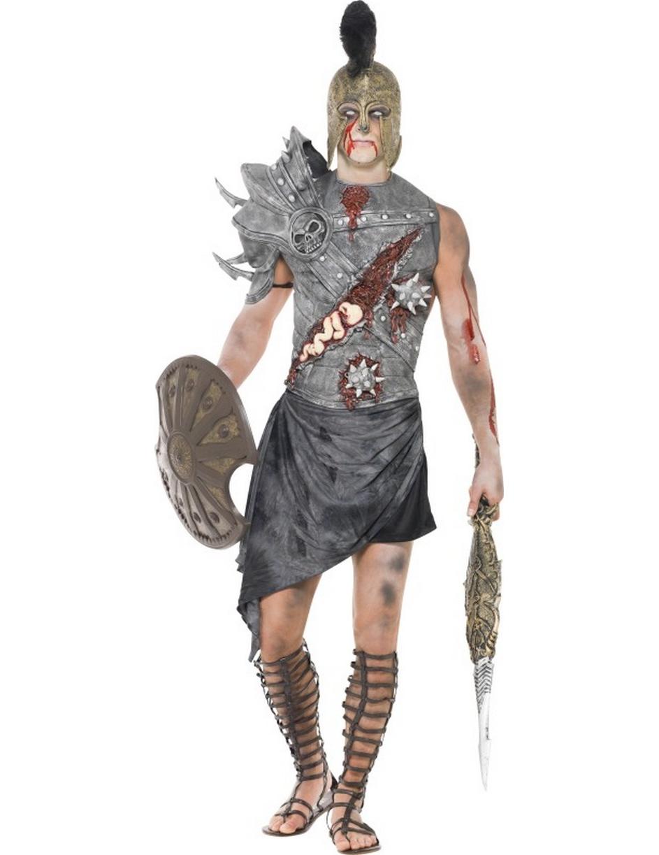 Disfraz zombi gladiador hombre Halloween  Disfraces adultos 2bfea80080fc