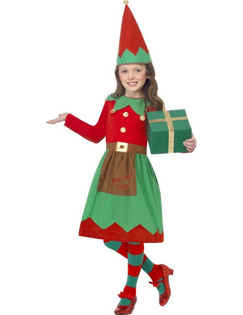 Disfraz elfo ni a de navidad disfraces ni os y disfraces - Disfraces de navidad originales ...
