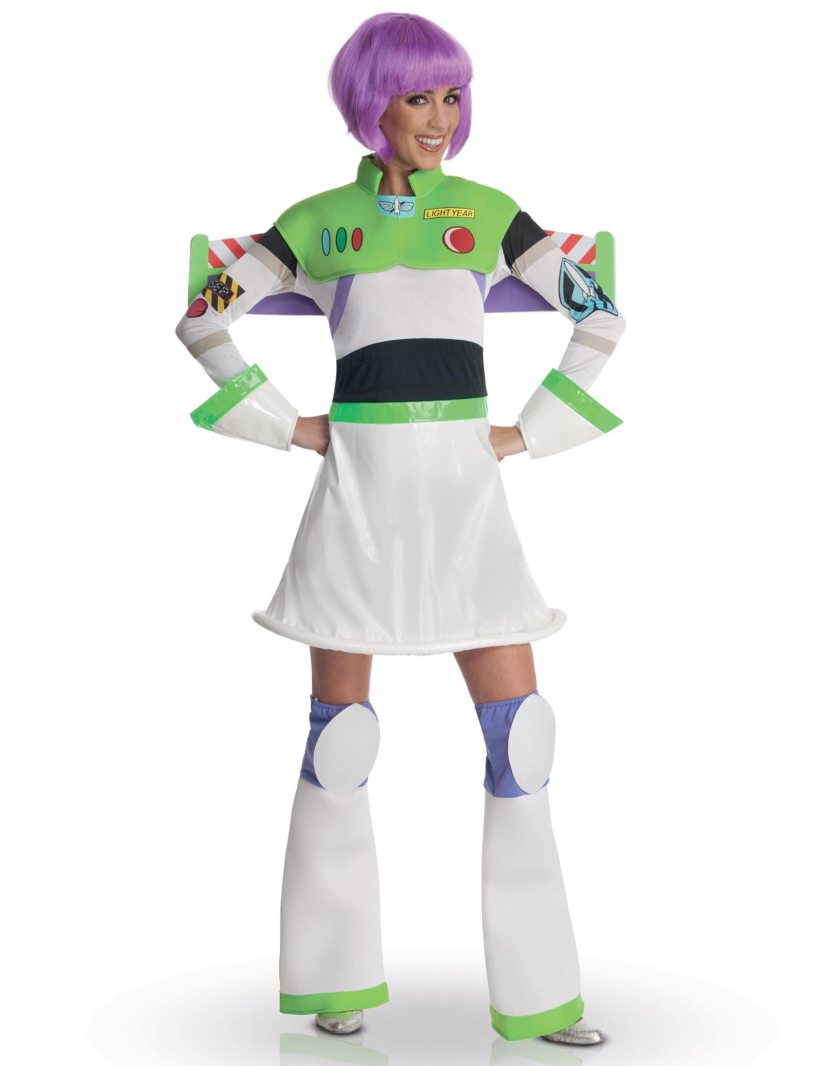 disfraz miss buzz lightyear mujer