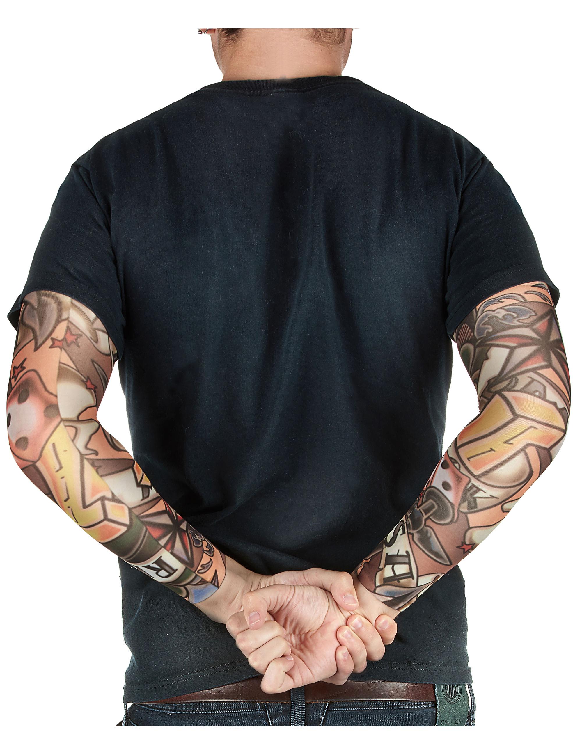 Mangas Tatuajes Falsos Adulto Accesoriosy Disfraces Originales