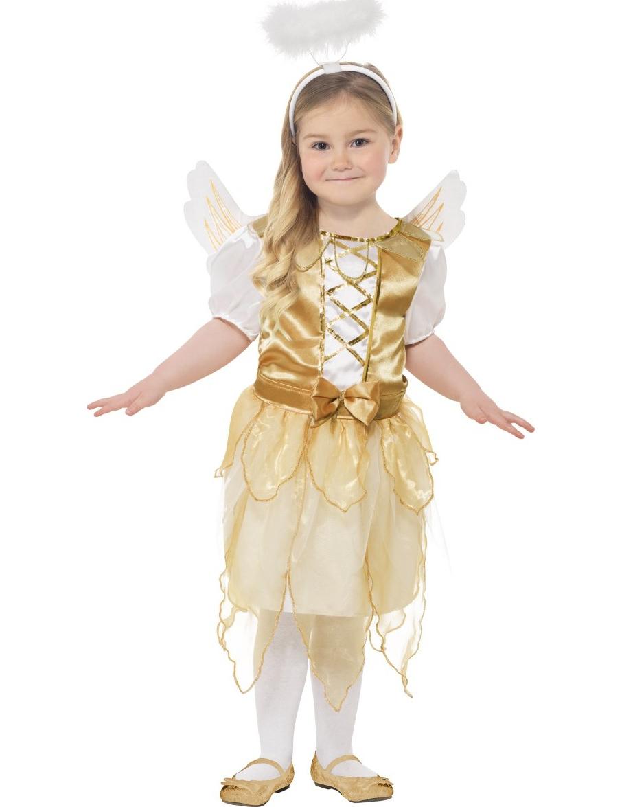 Disfraz de ngel dorado ni a navidad disfraces ni os y - Disfraz de navidad para bebes ...