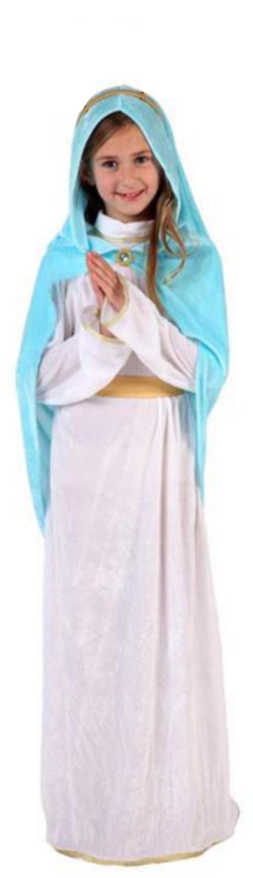 disfraz de virgen mara nia navidad