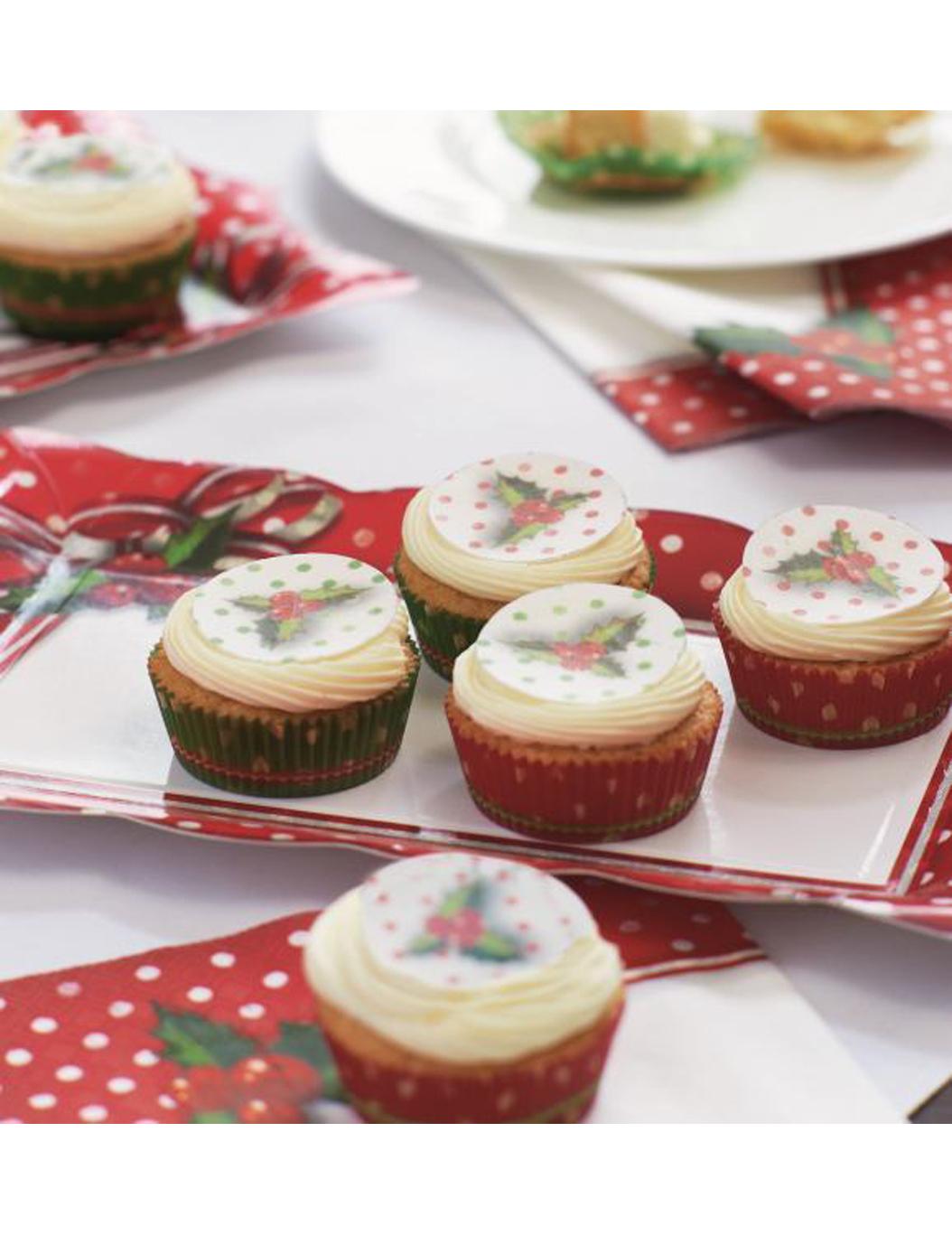 12 decoraciones comestibles postres navidad decoraci n y for Postres para navidad originales