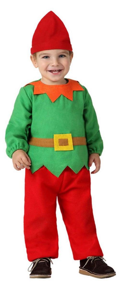 disfraz de duende beb navidad
