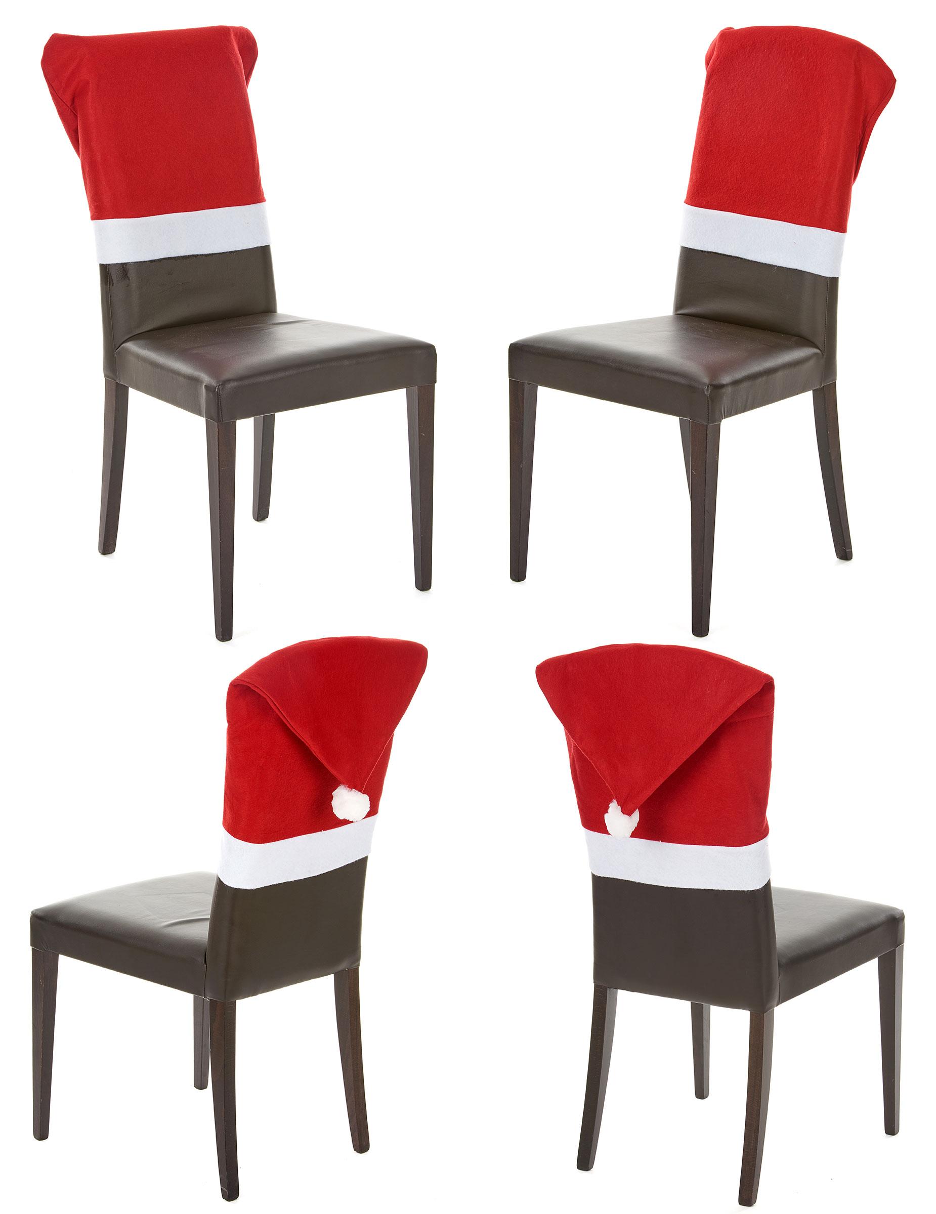 Set de 4 fundas para silla navidad - Fundas de sillas ...