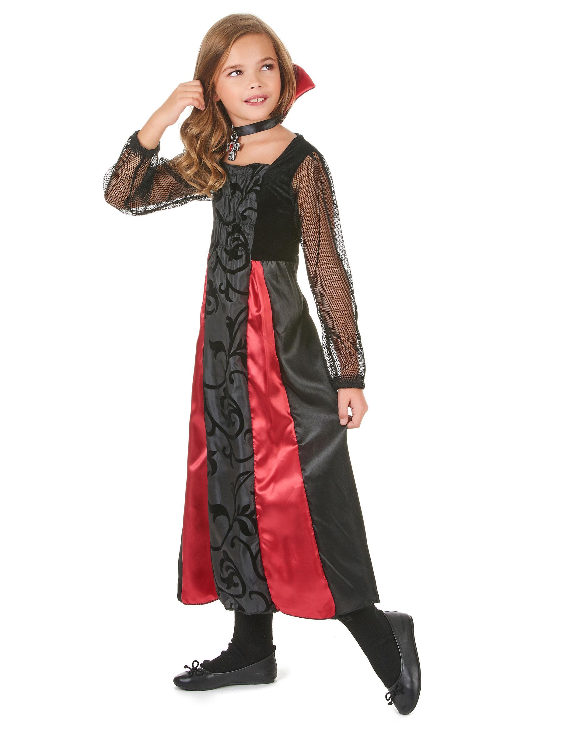 Disfraz de vampiro para niña Halloween: Disfraces niños,y disfraces originales baratos - Vegaoo